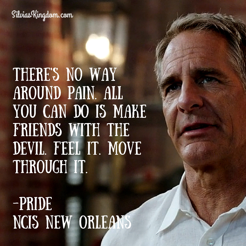 NCIS: New Orleans Quote