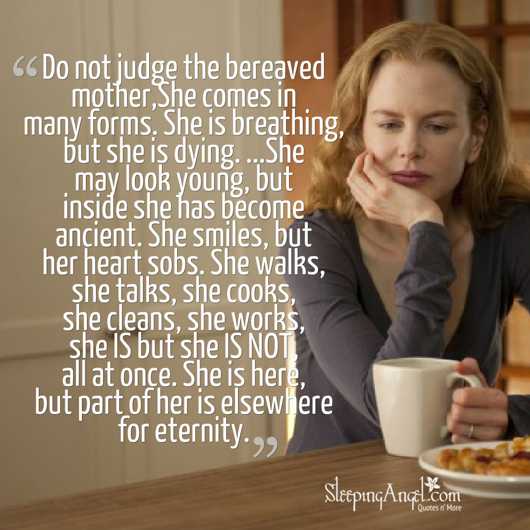 Bereaved Mother Quote