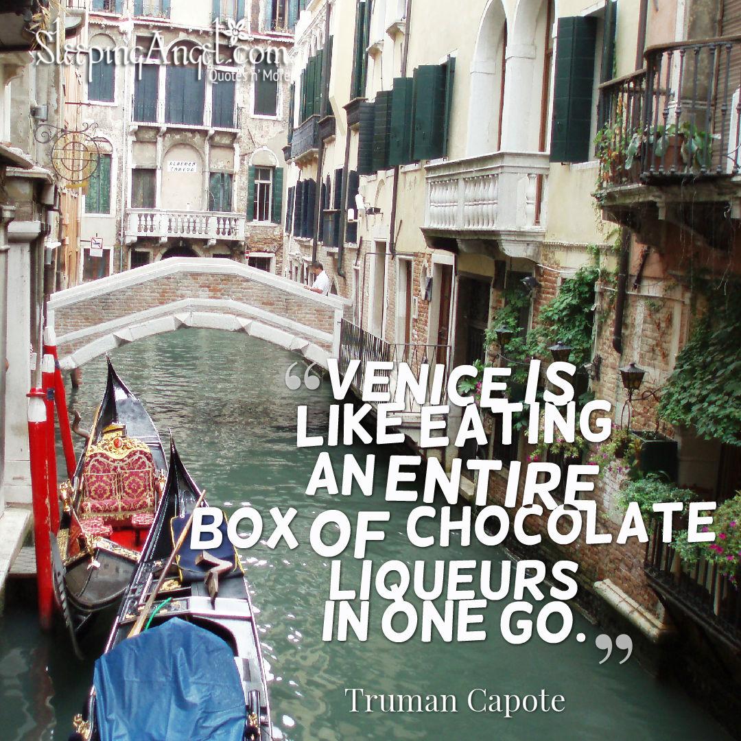 Venice (Venezia) Quote