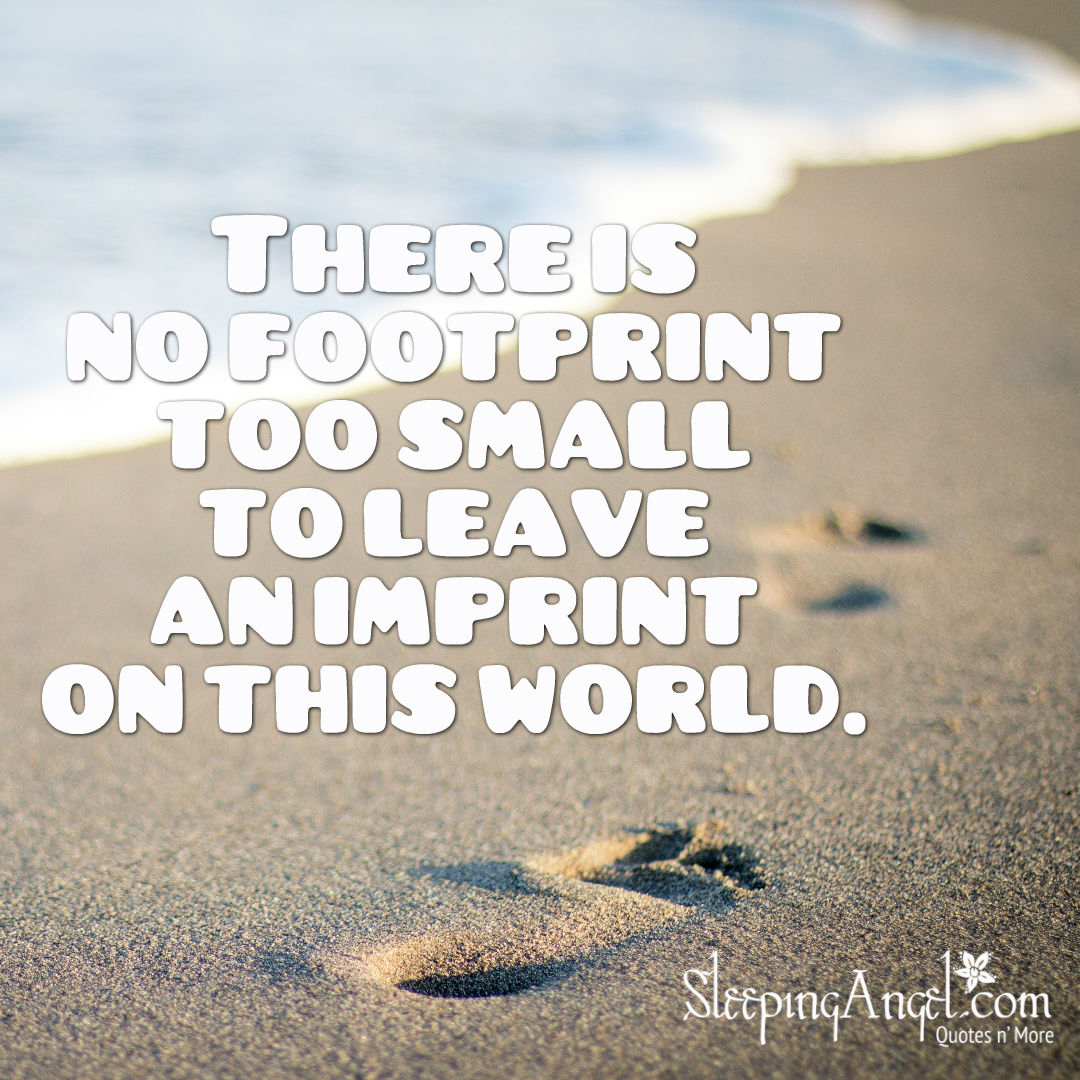 Imprint on This World Quote
