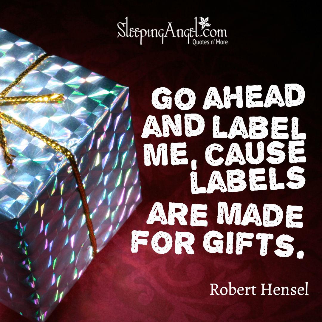 Robert Hensel Quote