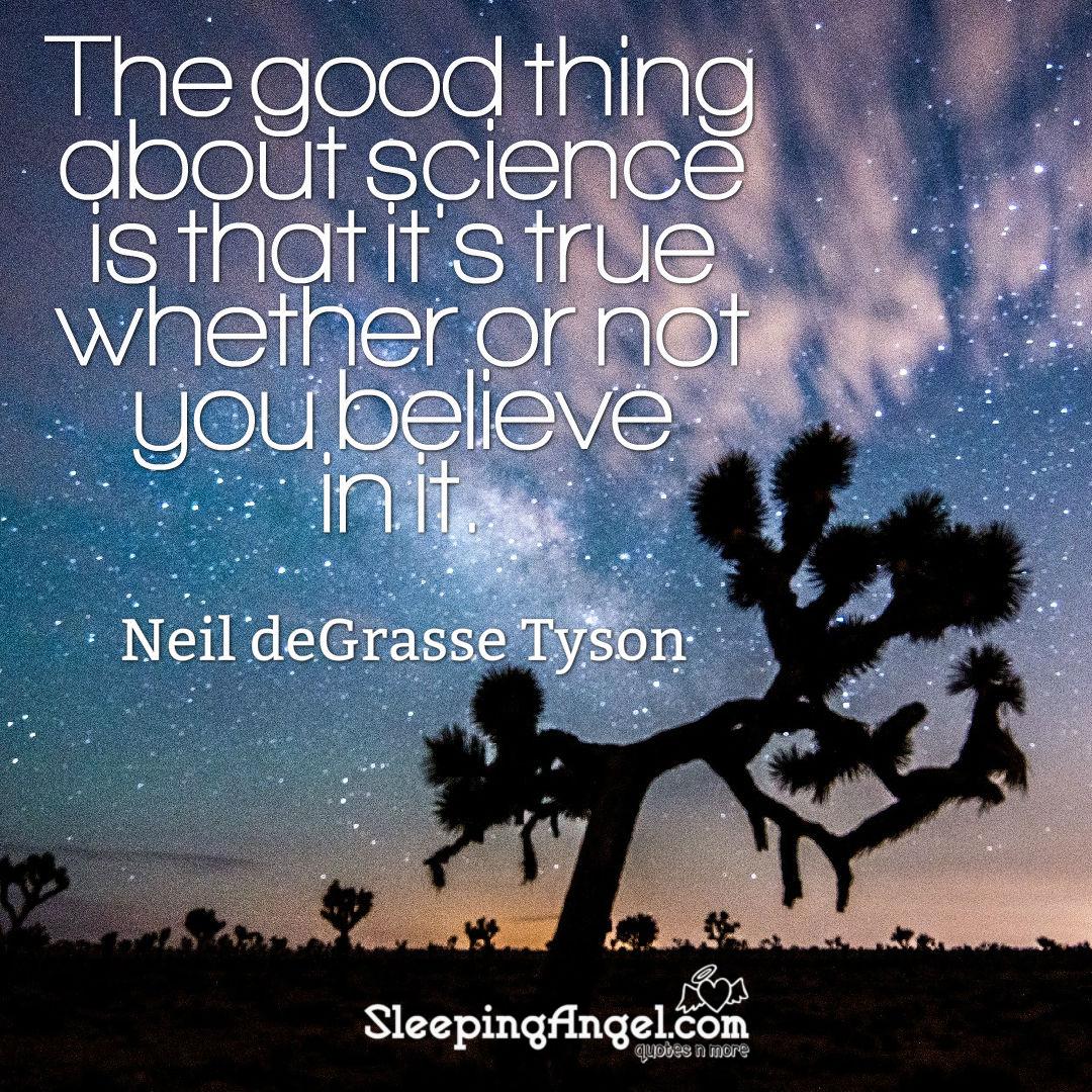 Neil deGrasse Tyson Quote