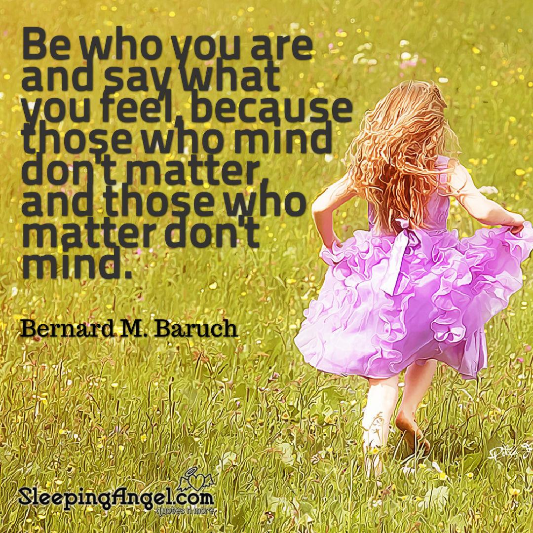 Bernard M. Baruch Quote