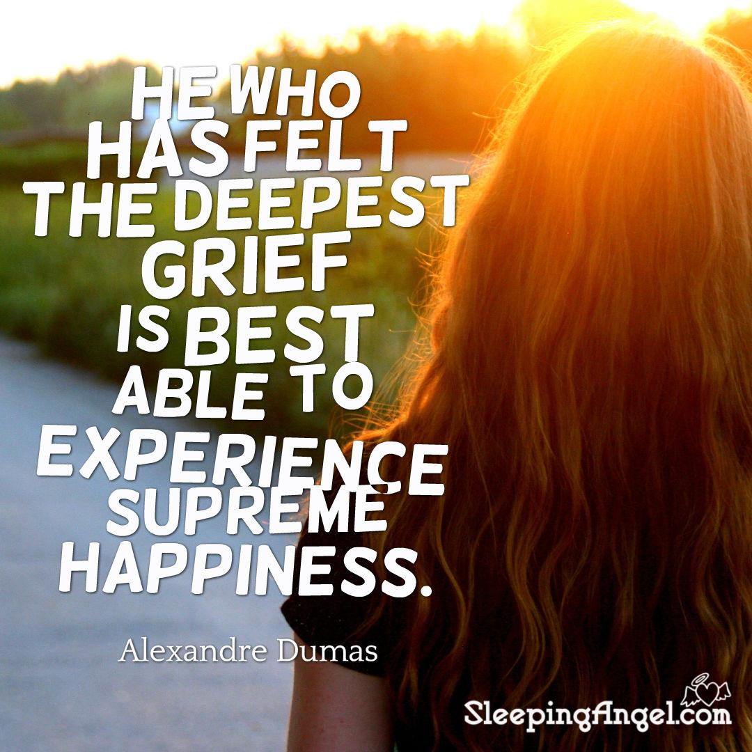 Alexandre Dumas Grief Quote