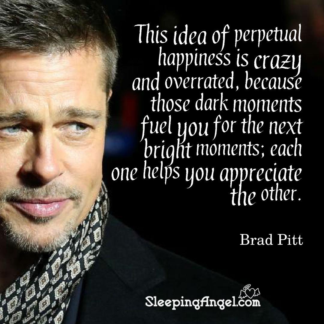 Brad Pitt Quote
