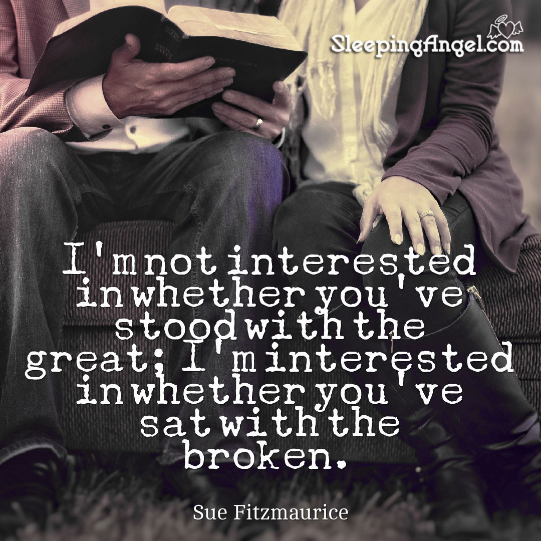 Sue Fitzmaurice Quote