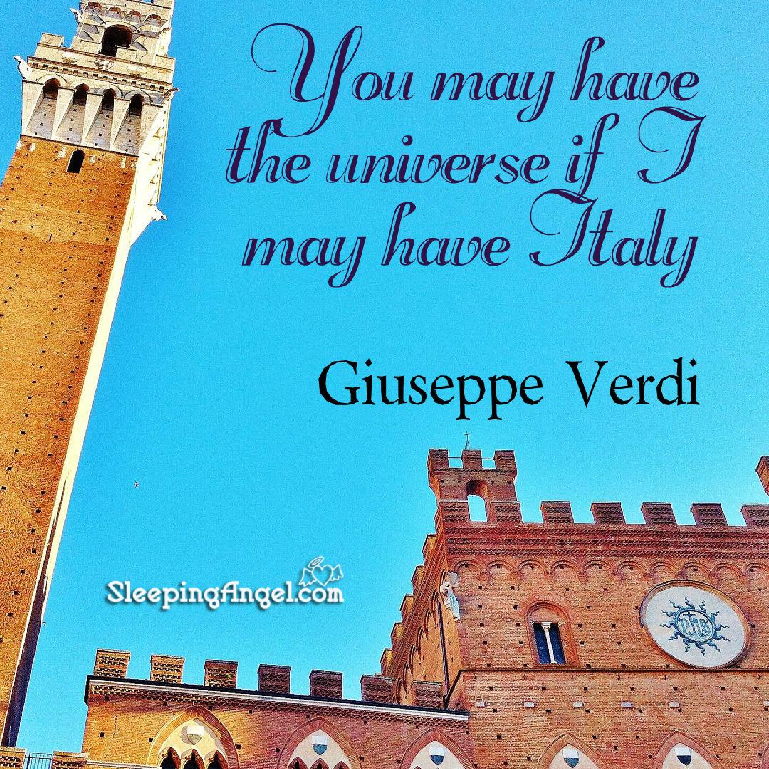 Giuseppe Verdi Quote