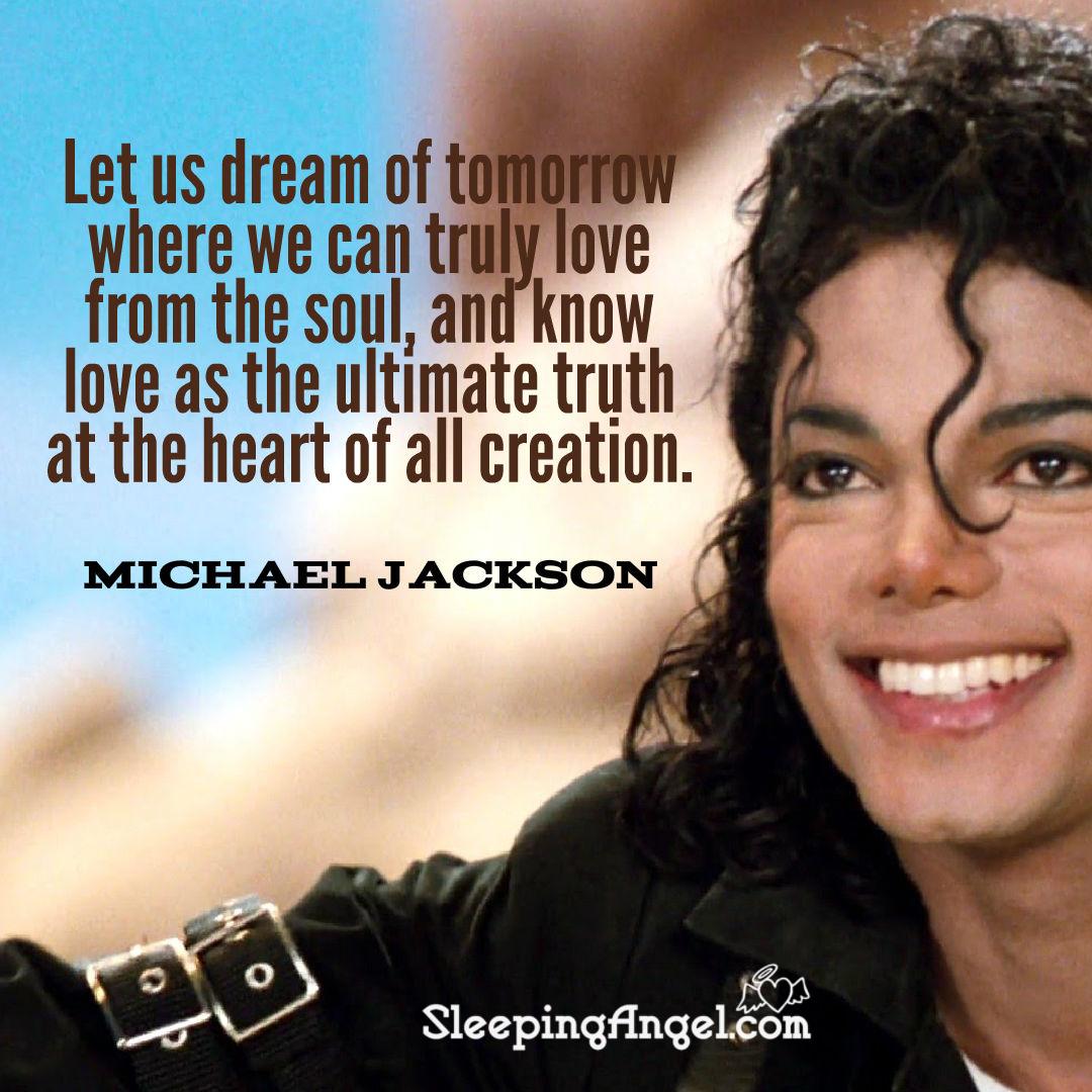 Michael Jackson Quote Sleeping Angel