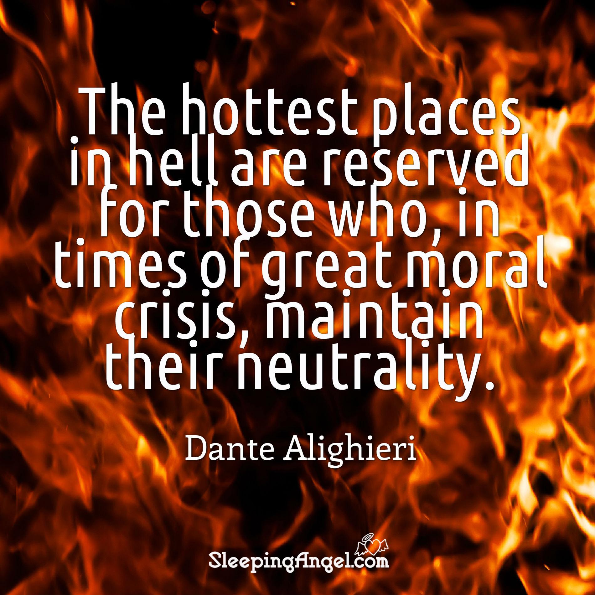 Dante Alighieri Quote
