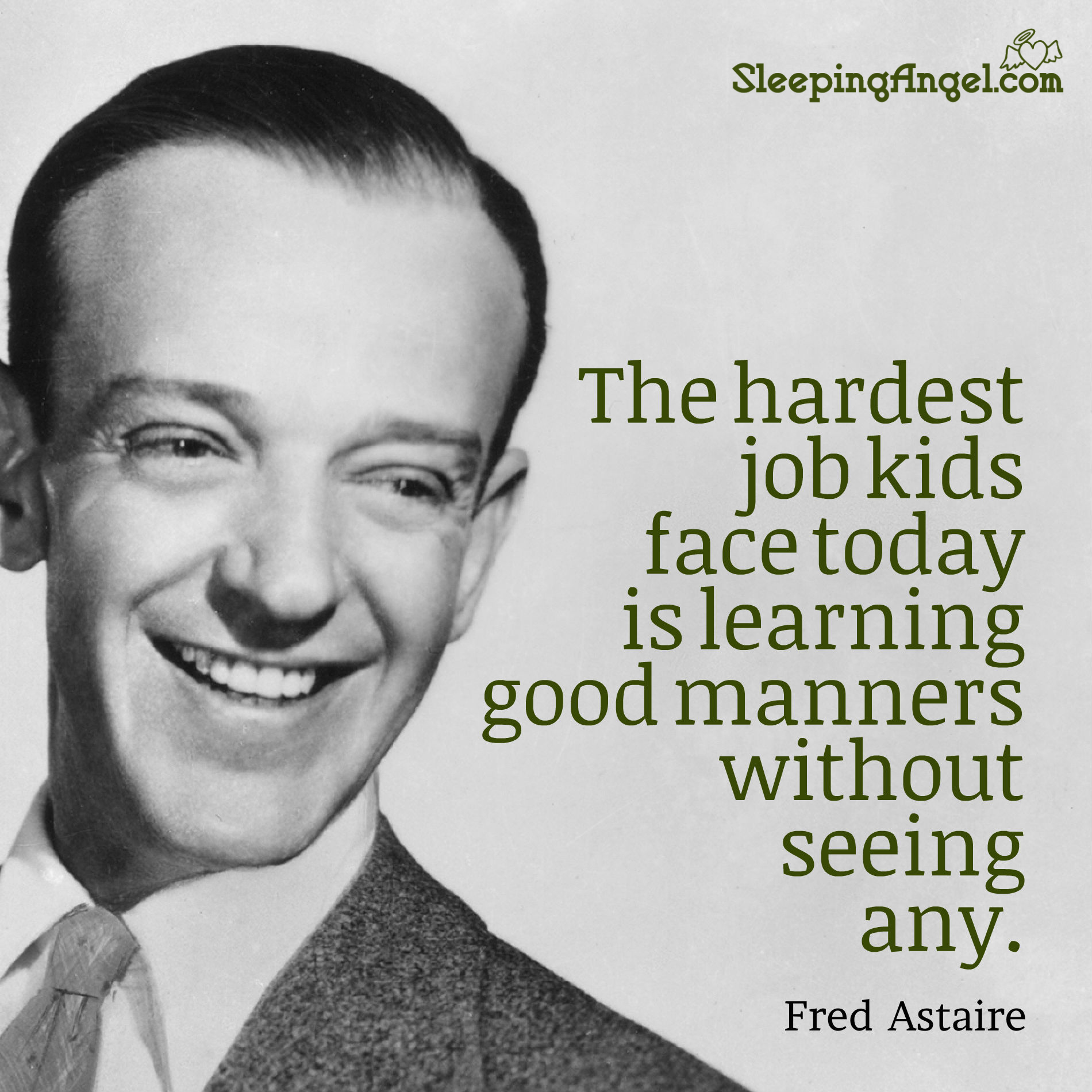 Fred Astaire Quote