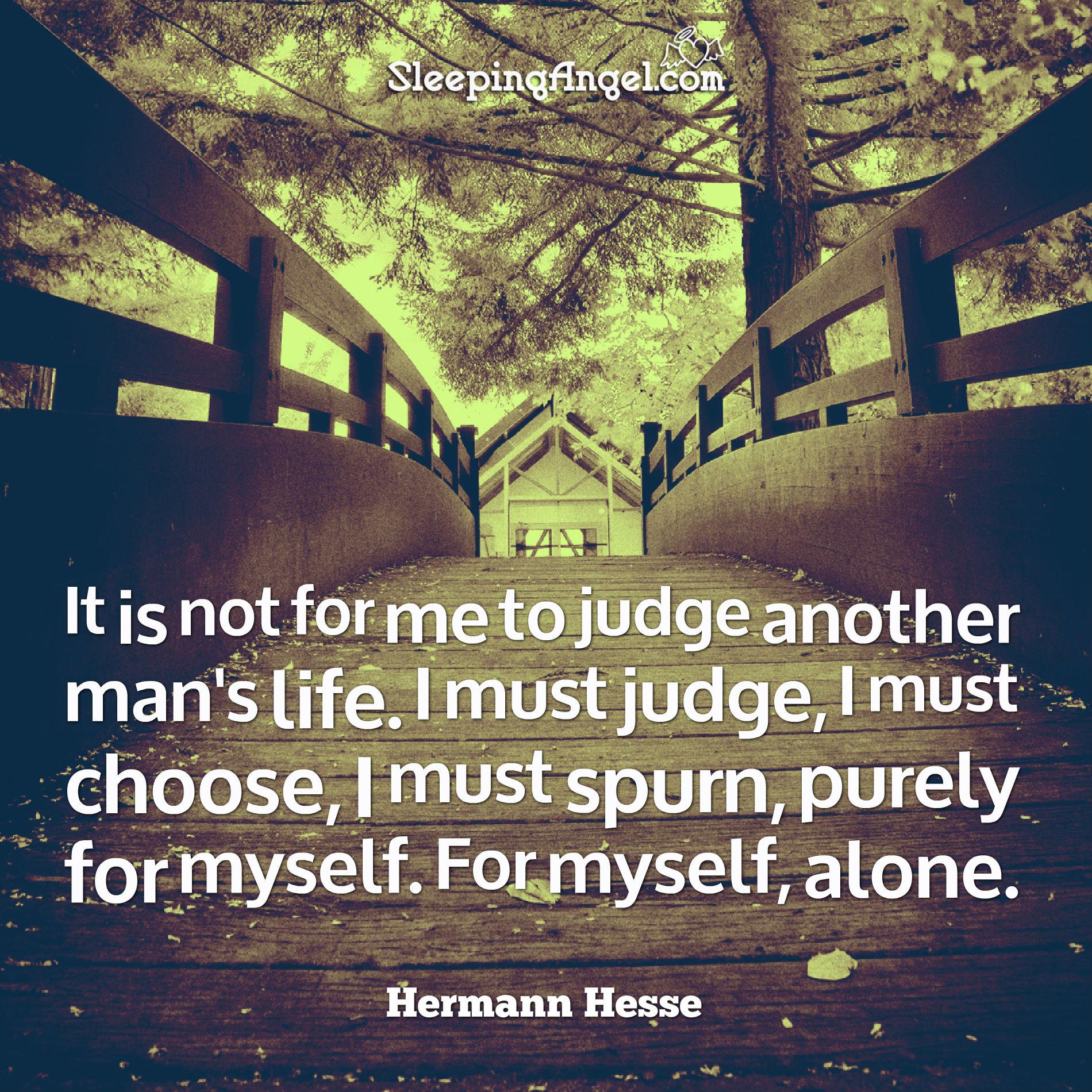Judging Quote