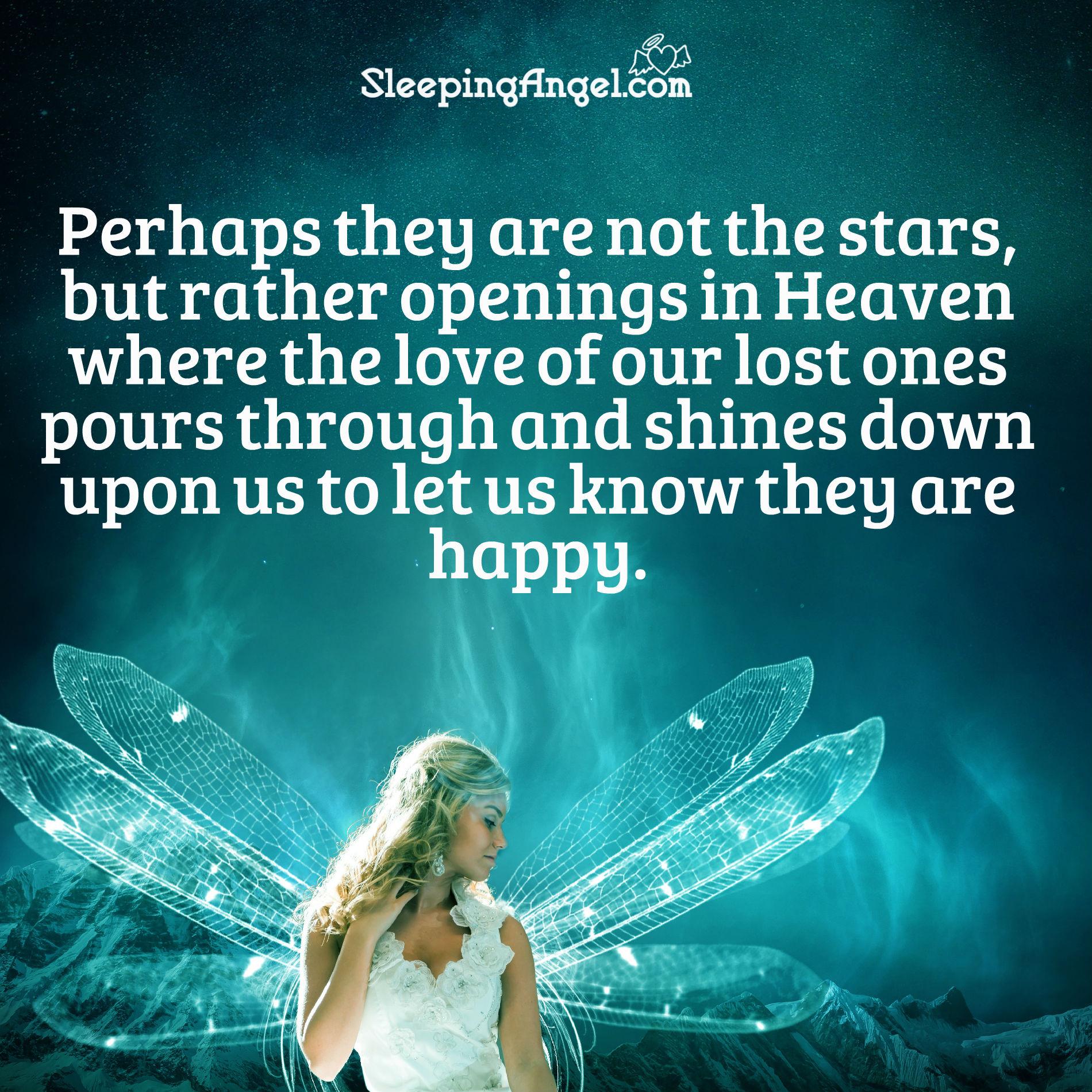 Openings in Heaven Quote