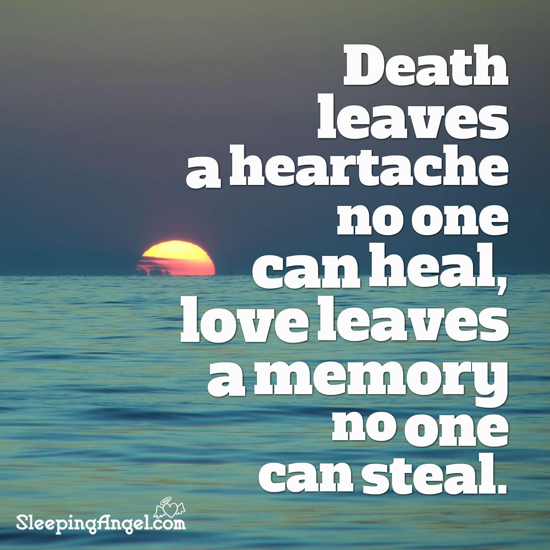 Heartache and Love Quote