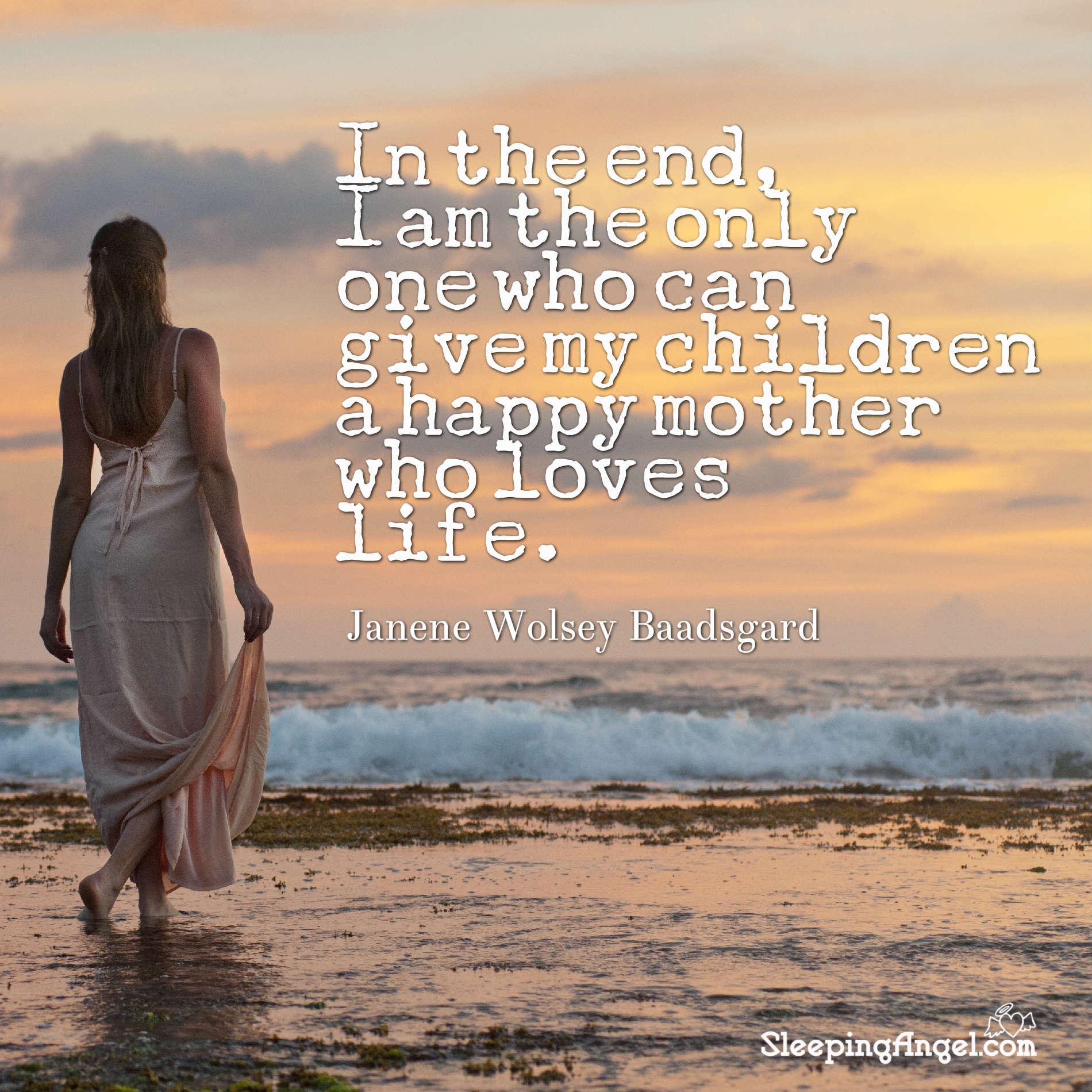 Happy Mother Quote
