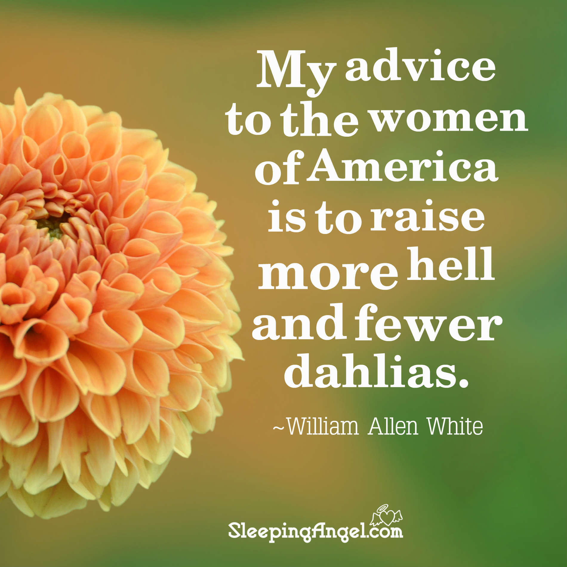 Advice for Women Quote