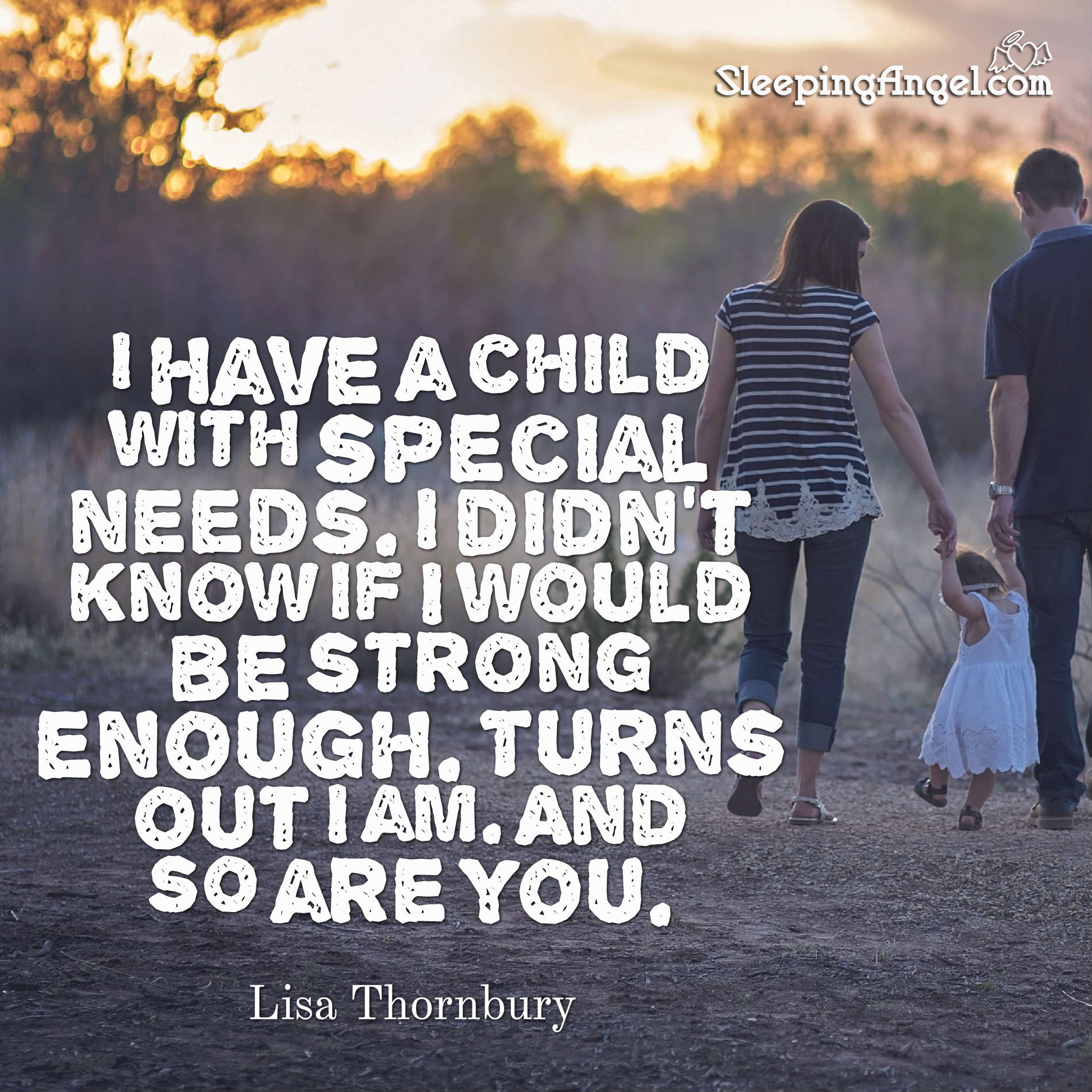 Special Need Parenting Quote