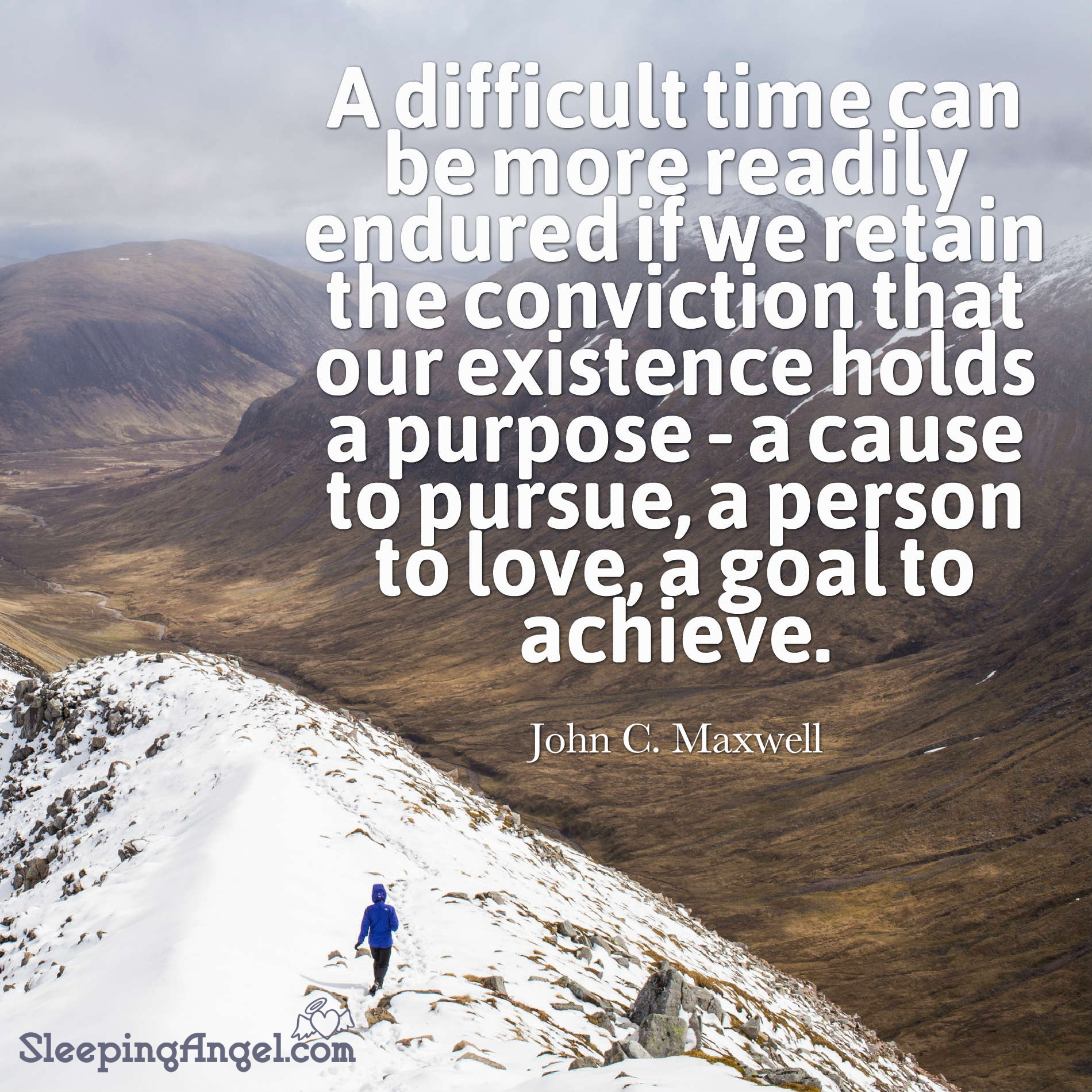 Difficult Time Quote