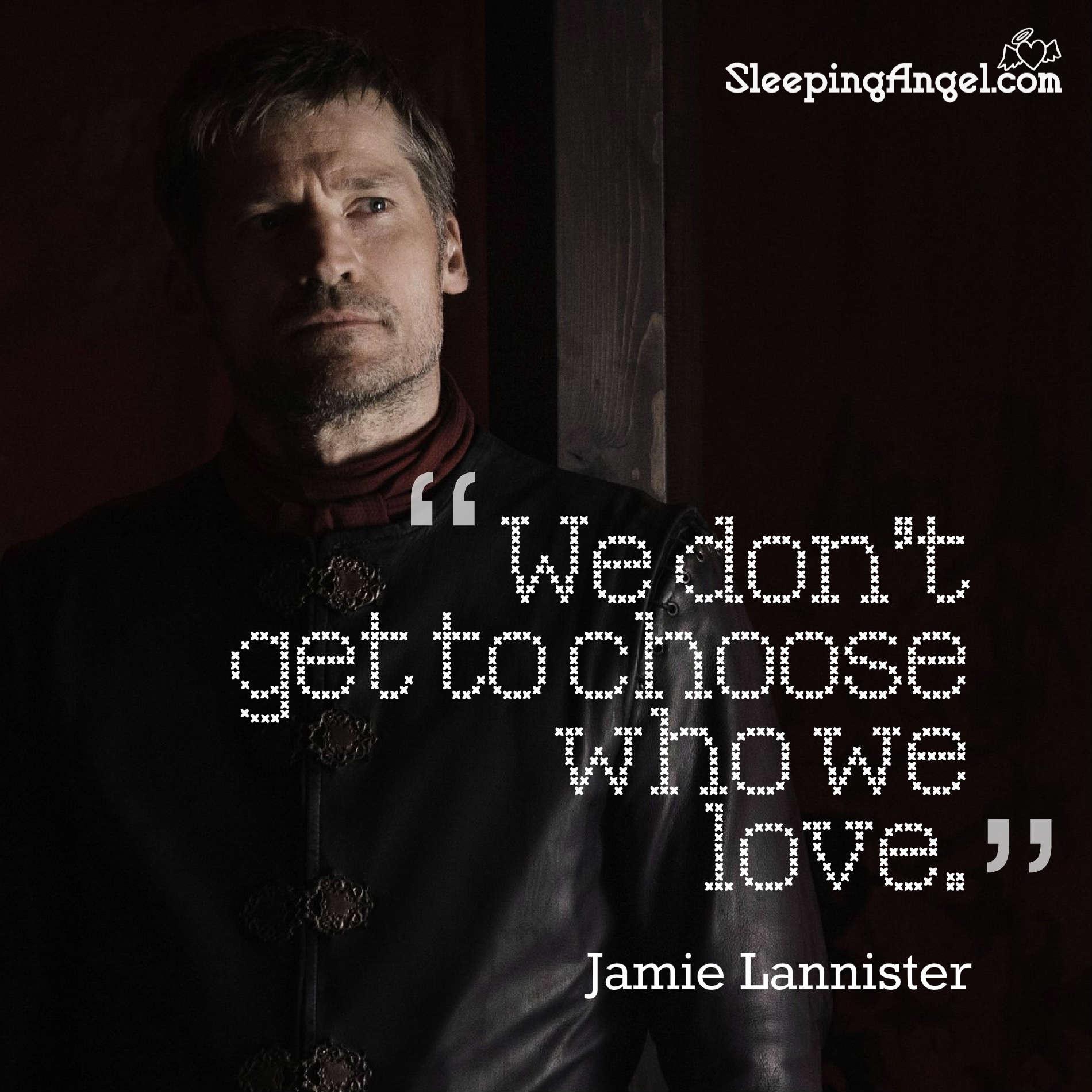 Jamie Lannister Quote