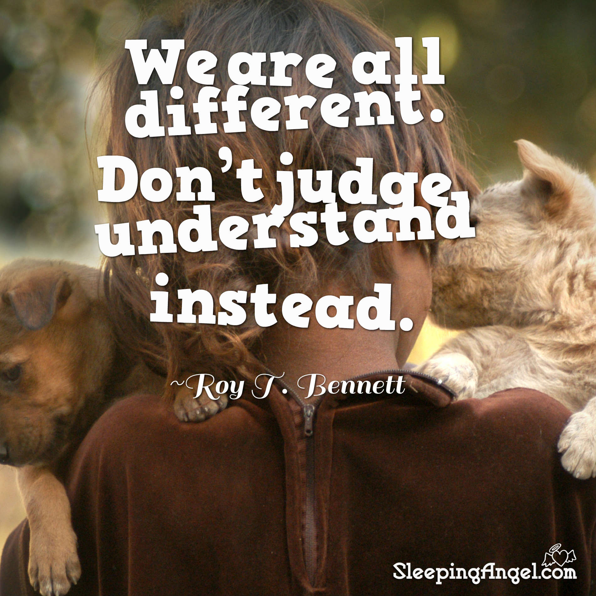 We are all Different Quote