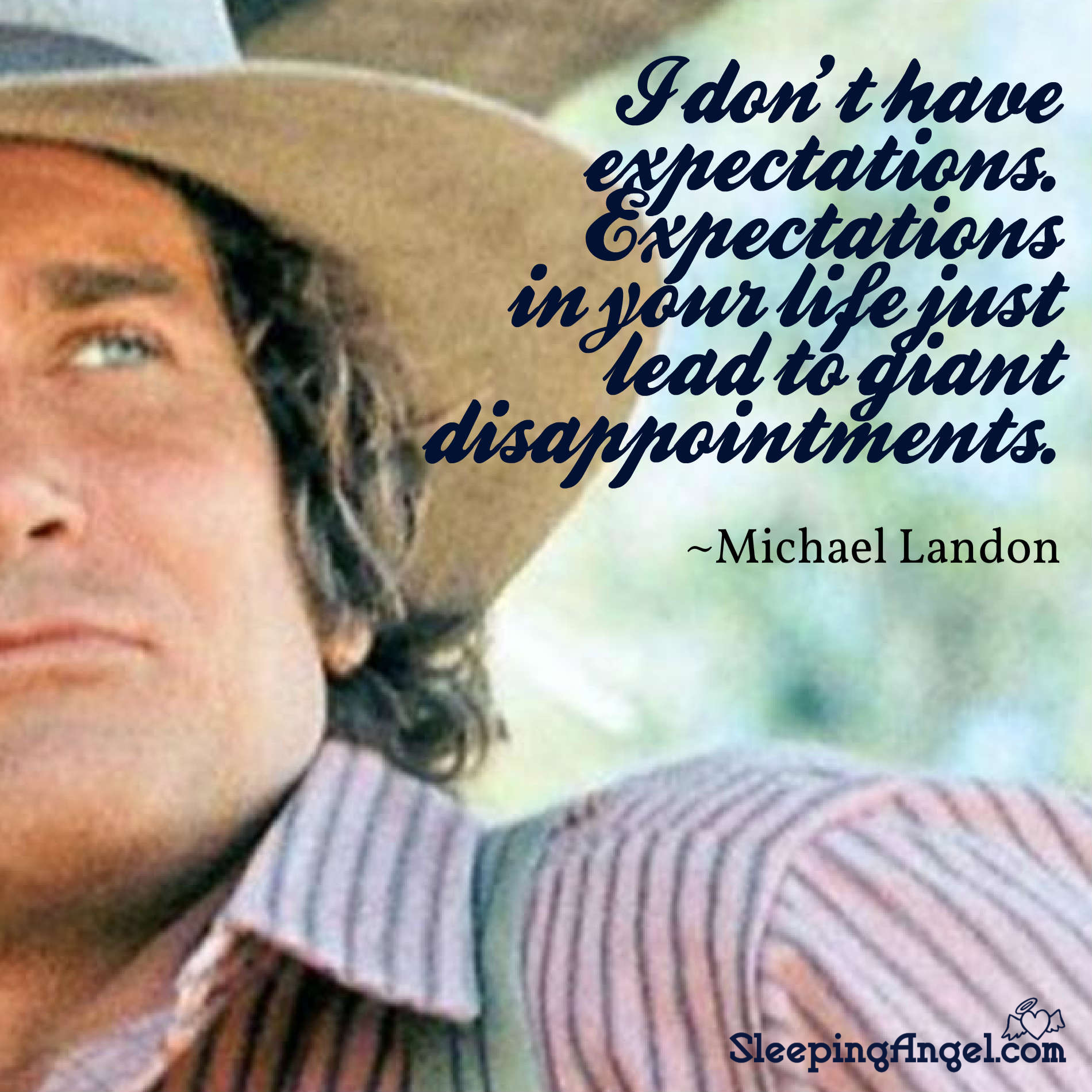 Michael Landon Quote