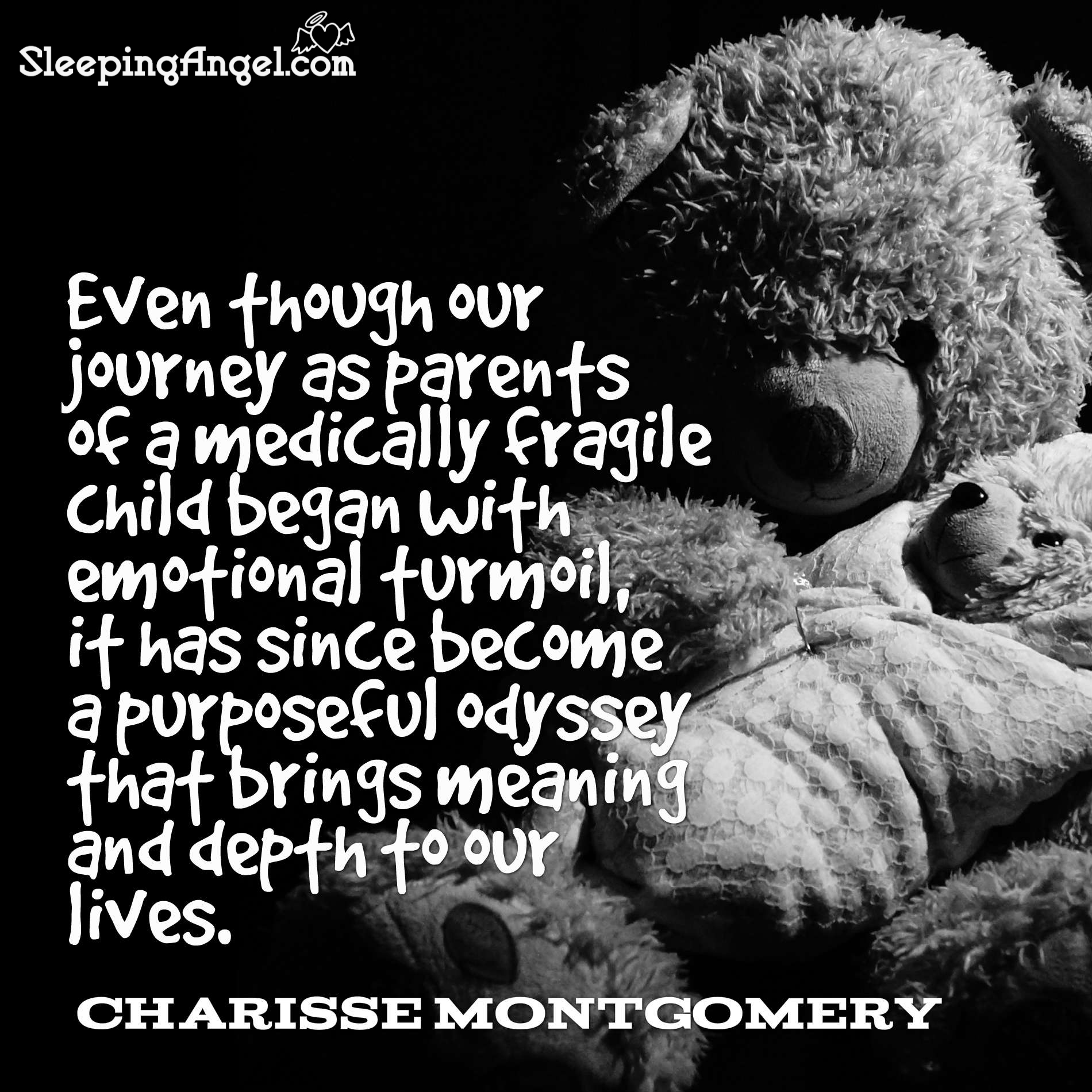 Parenting a Medically Fragile Child Quote