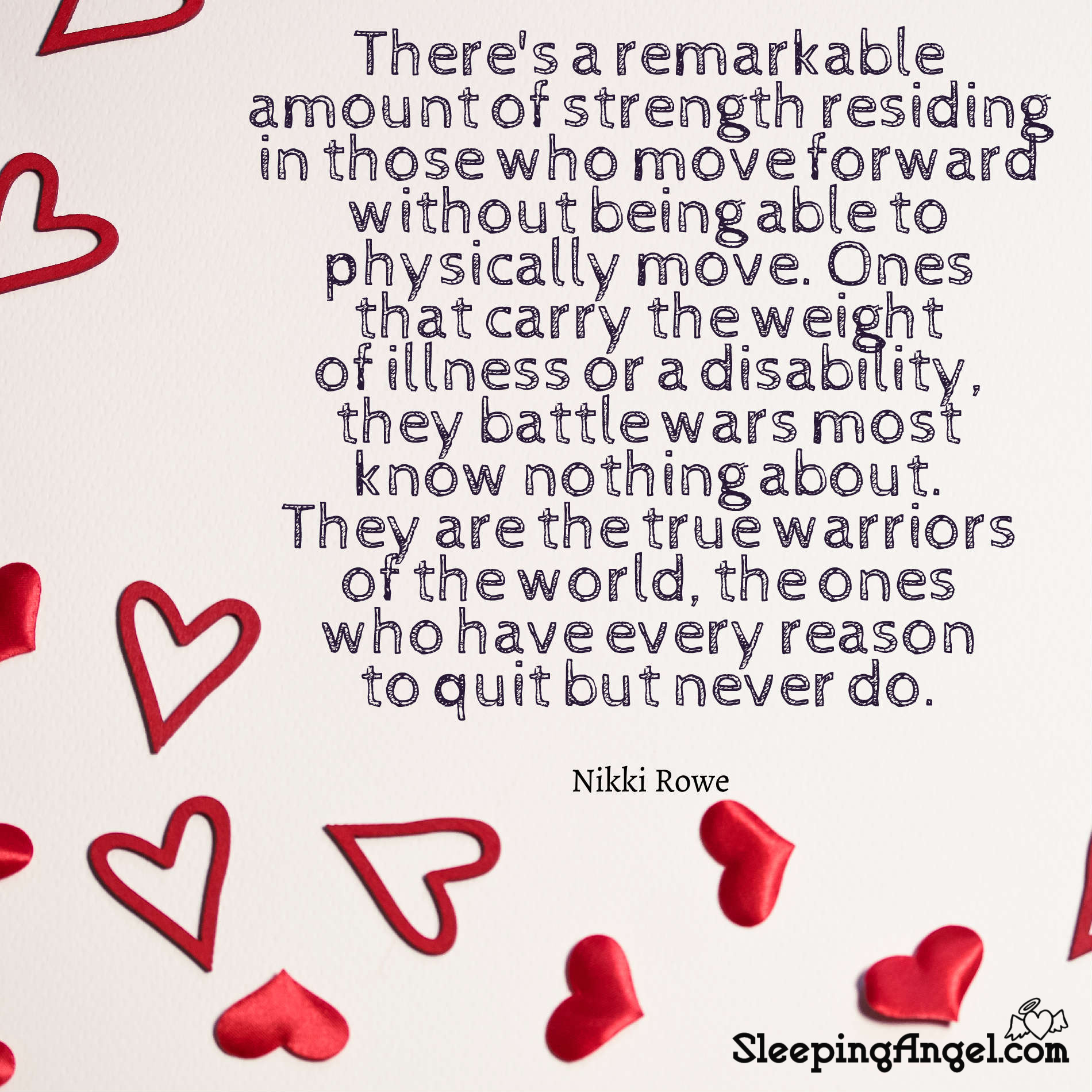 Disability Warriors Quote