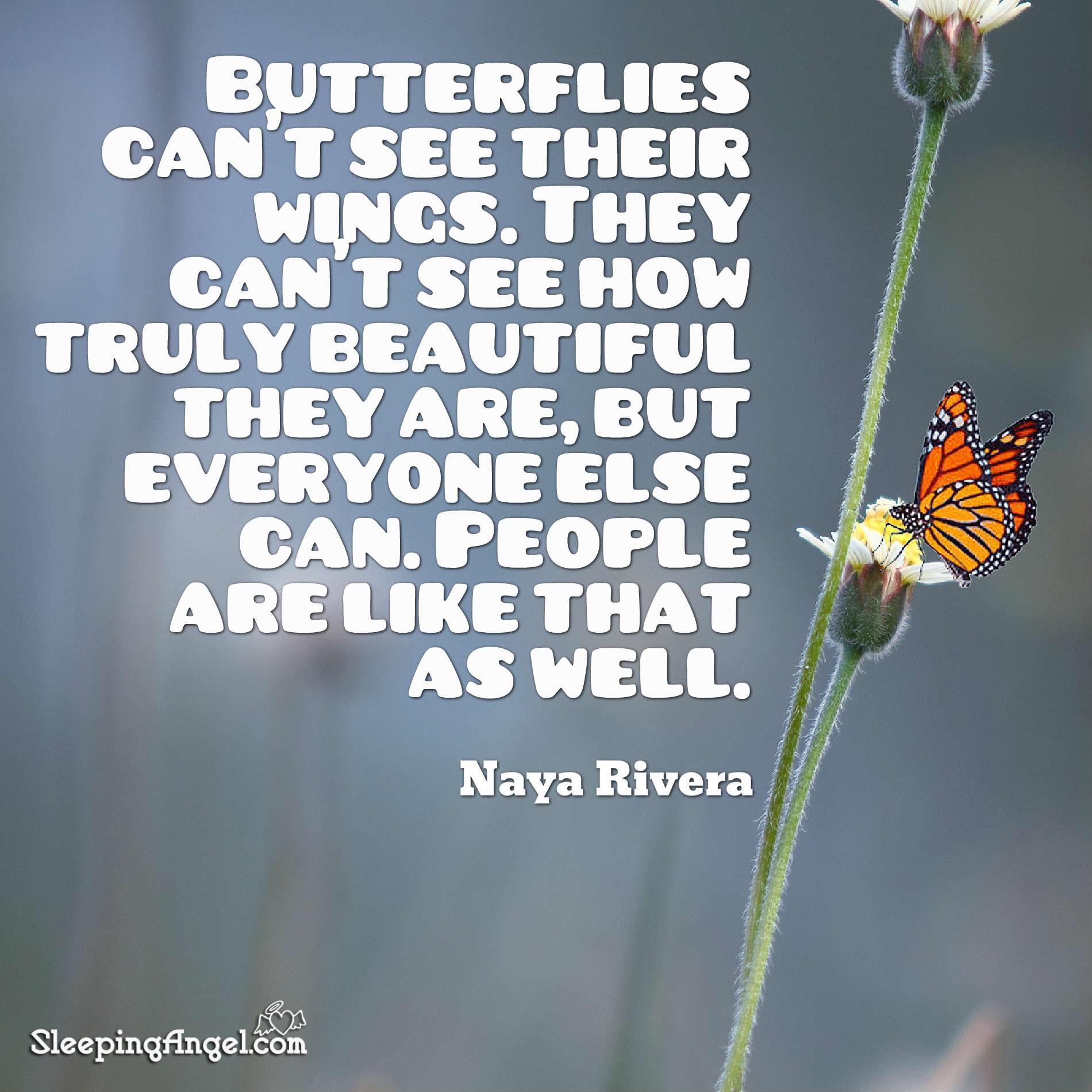 Butterflies Quote