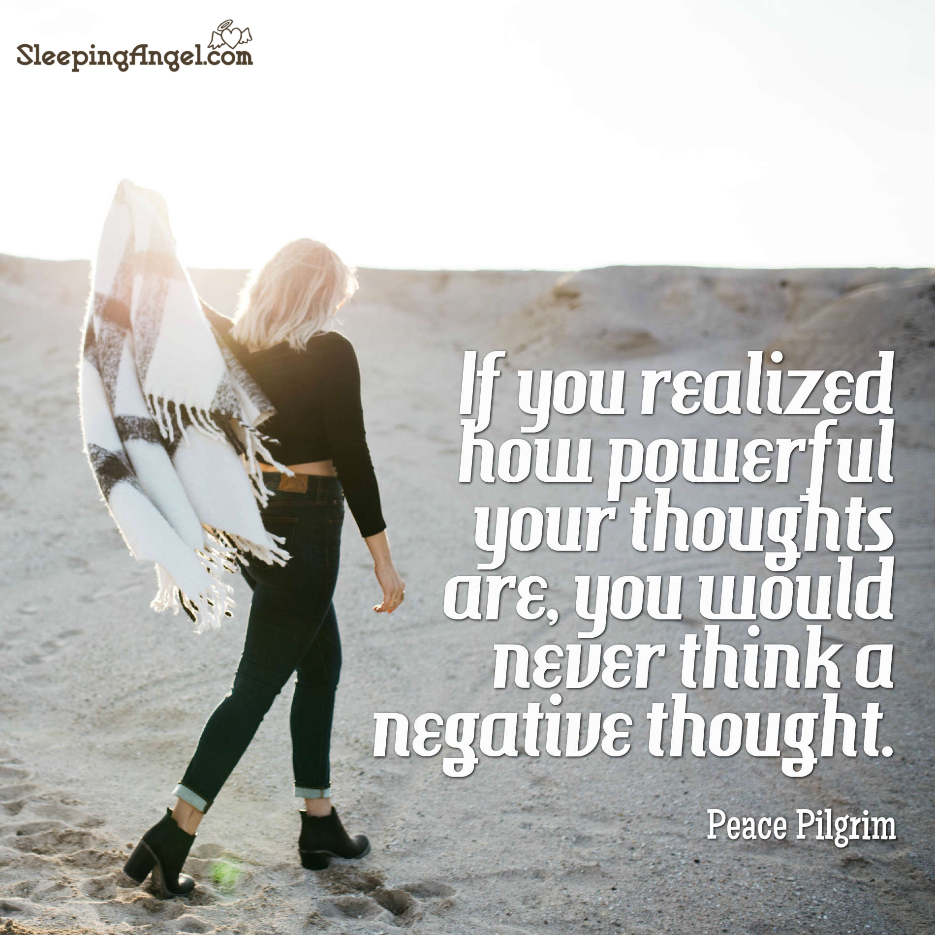 Thoughts are Powerful Quote