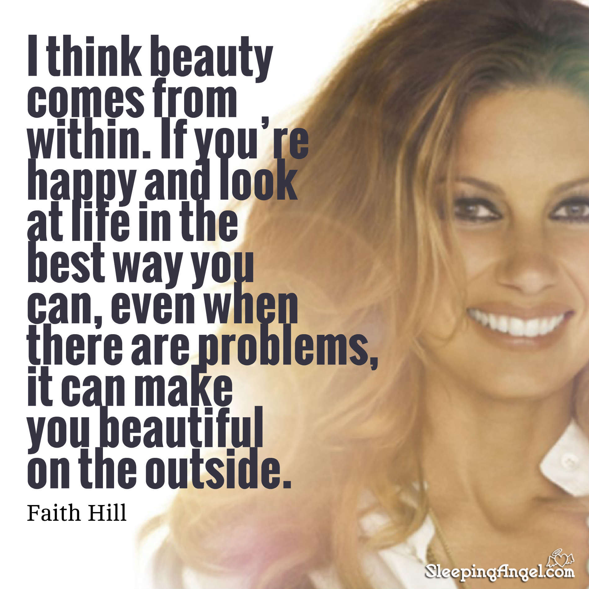 Faith Hill Quote