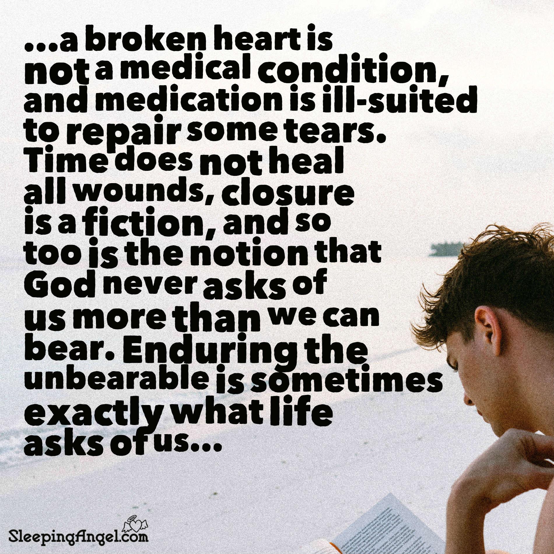 A Broken Heart Quote