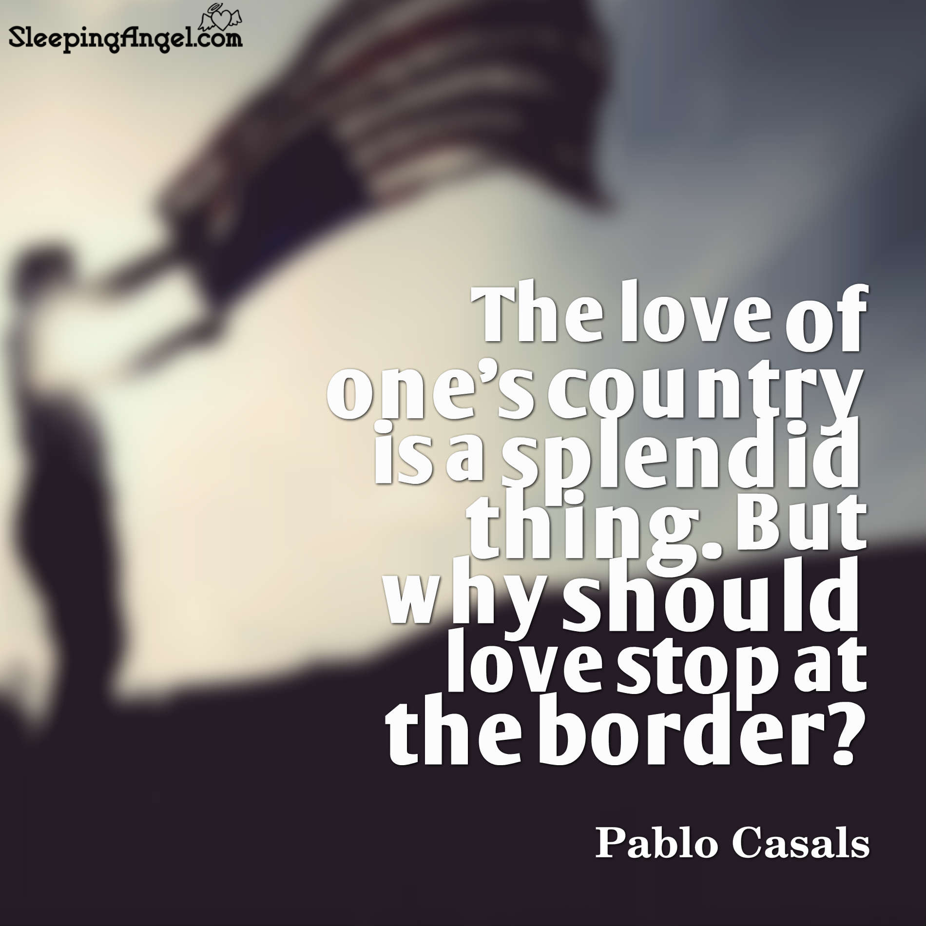 Love of One's Country Quote