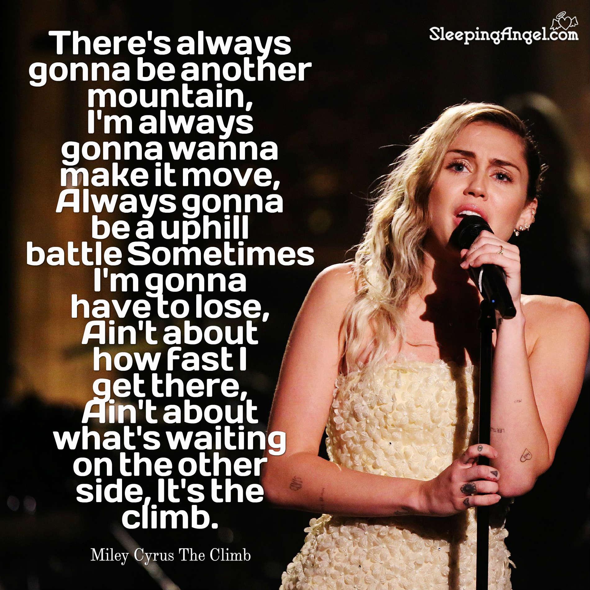 The Climb Quote