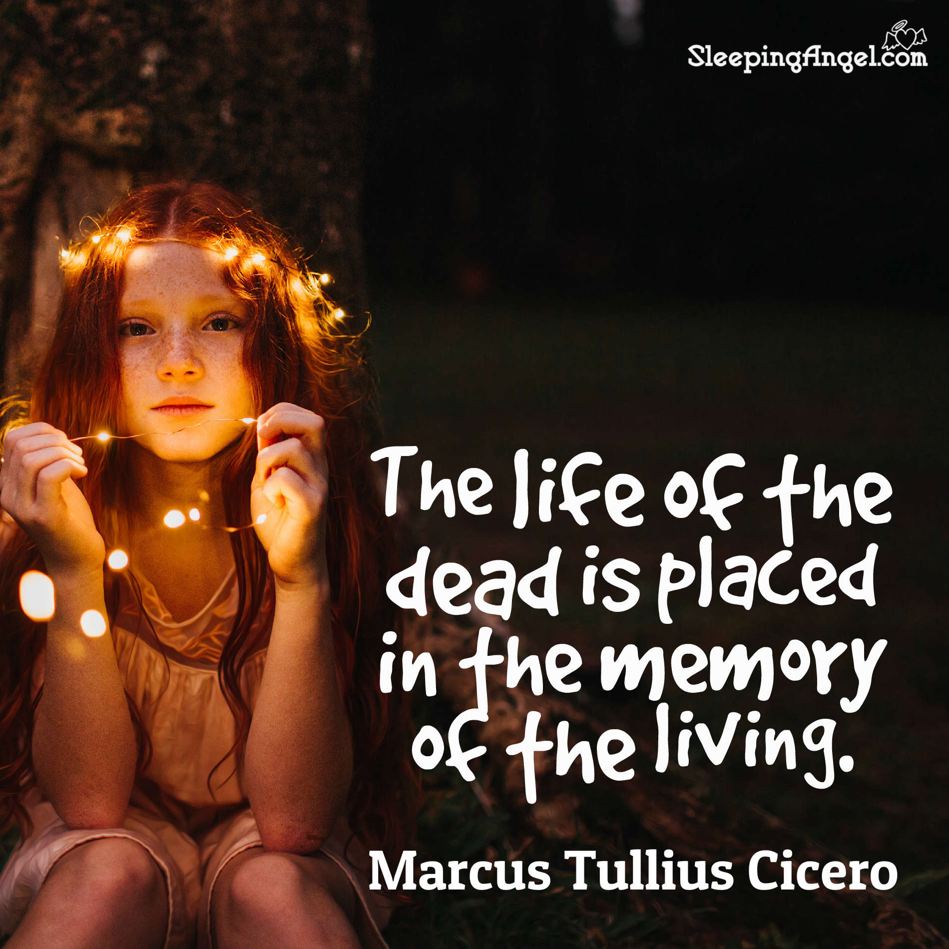 Memory of the Living Quote
