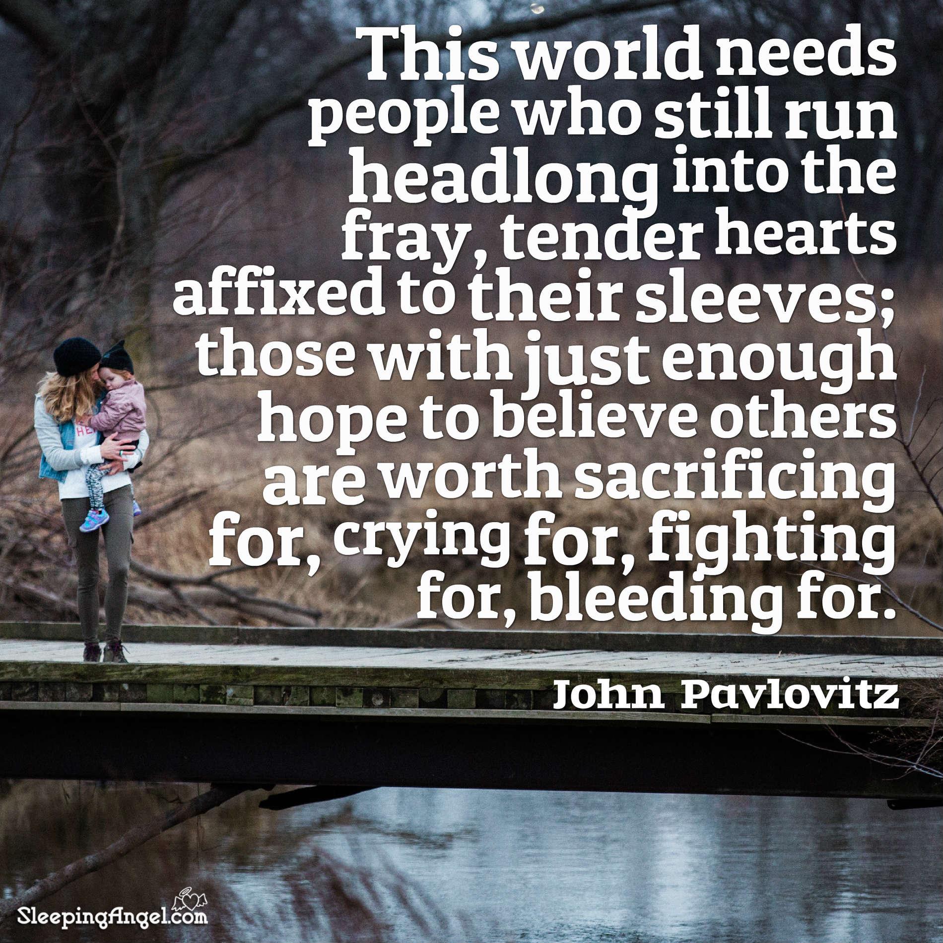 John Pavlovitz Quote