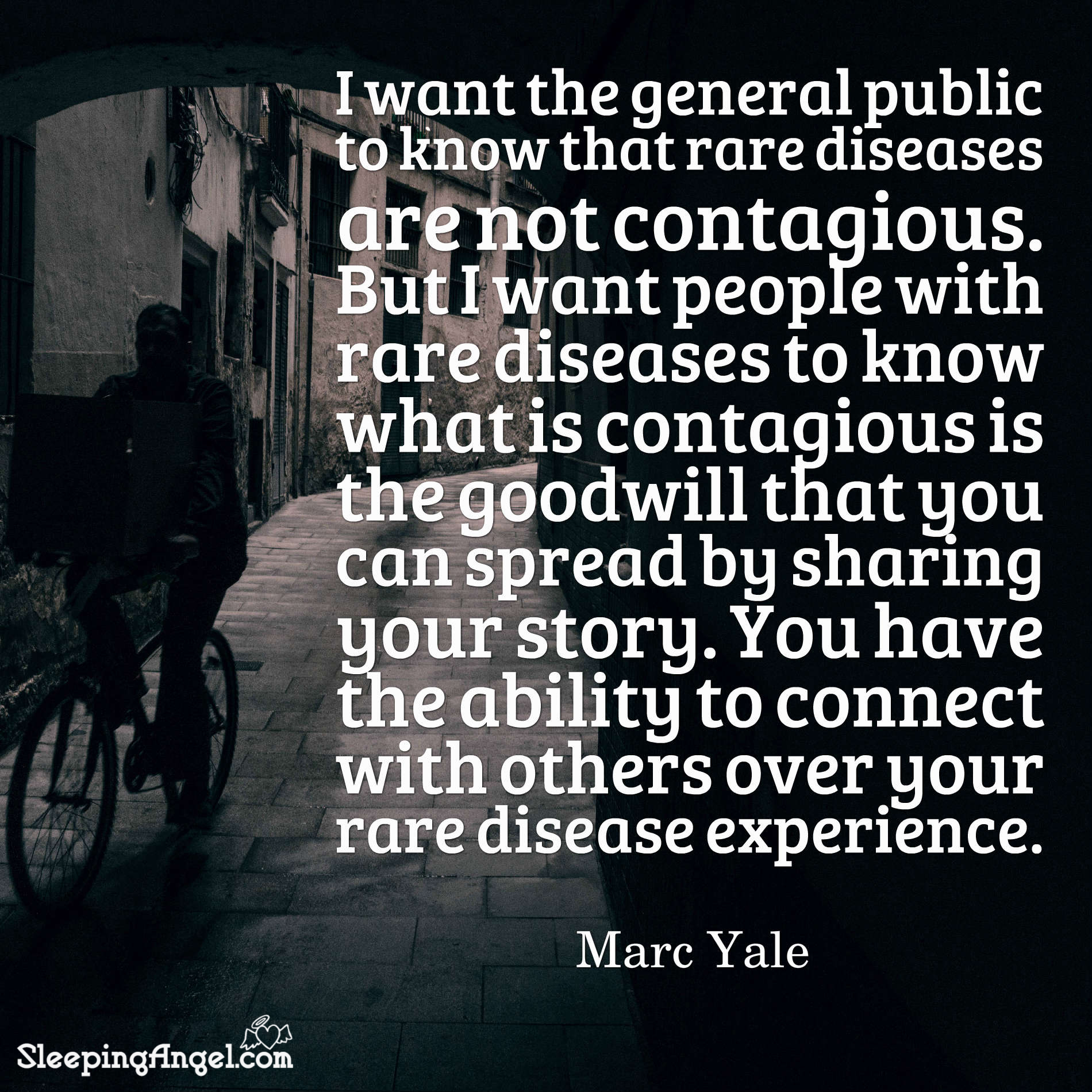 Rare Disease Quote