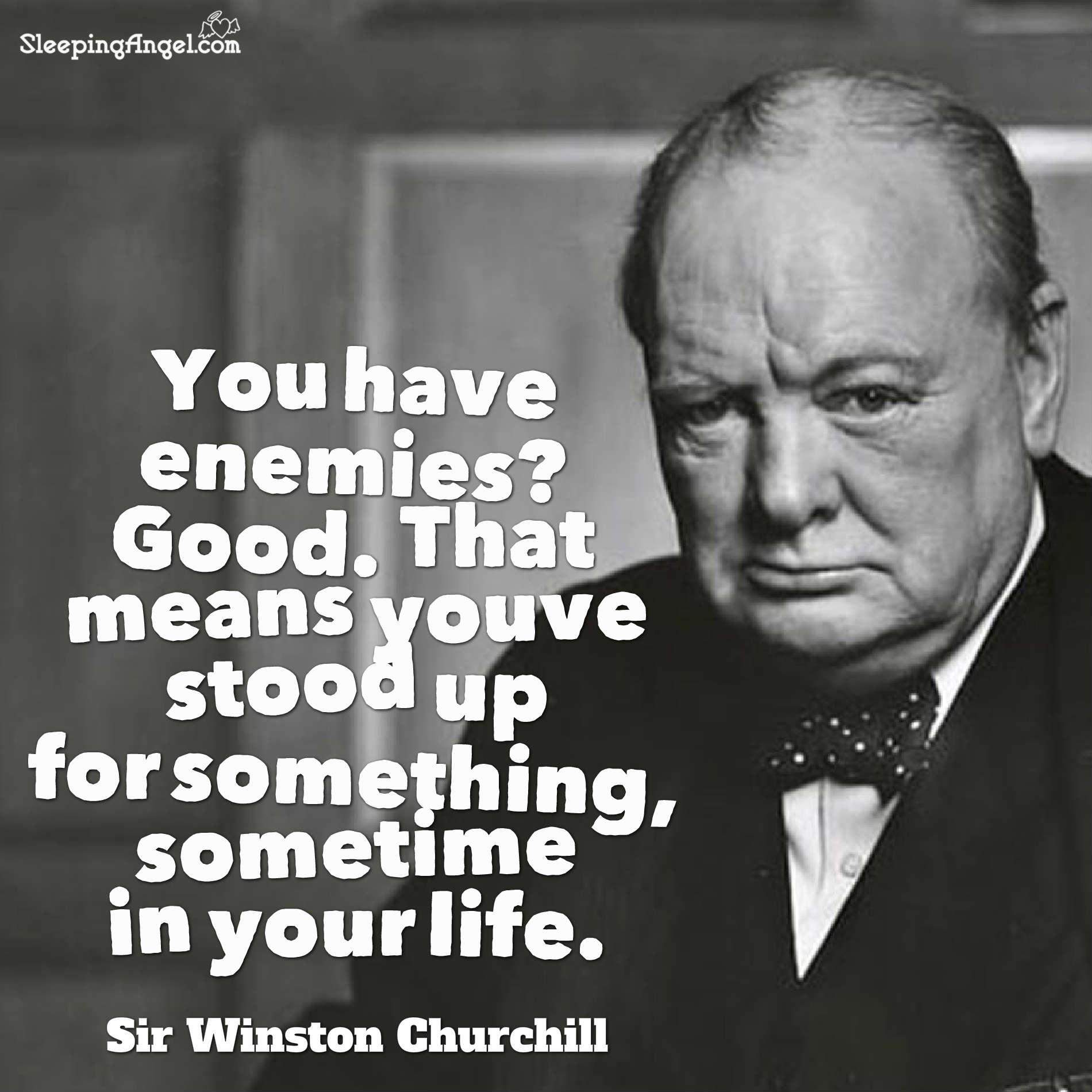 Sir Winston Churchill Quote