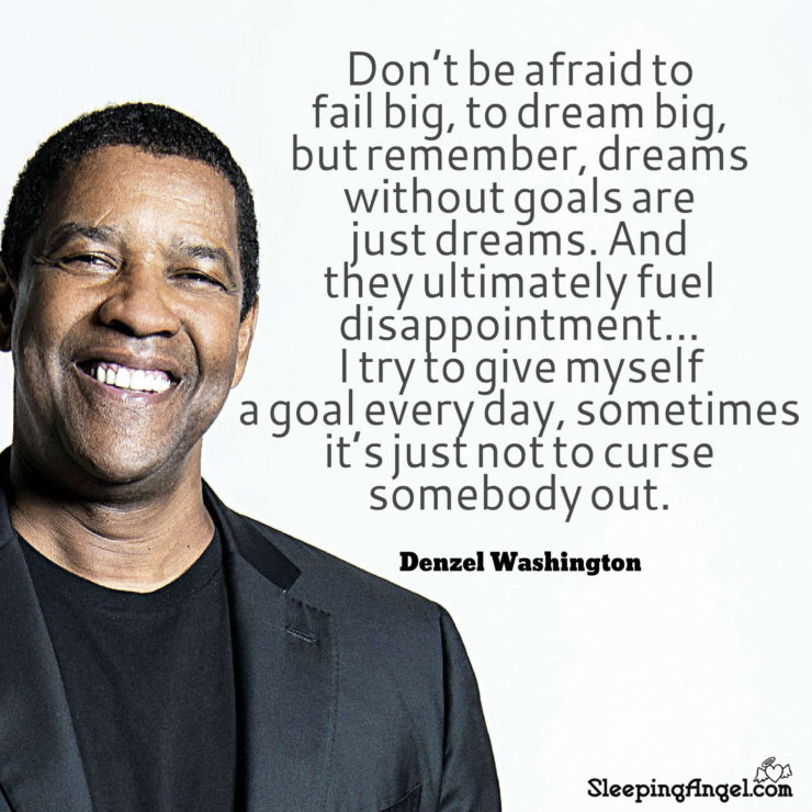 Denzel Washington Quote Sleeping Angel Beauteous Denzel Washington Quotes