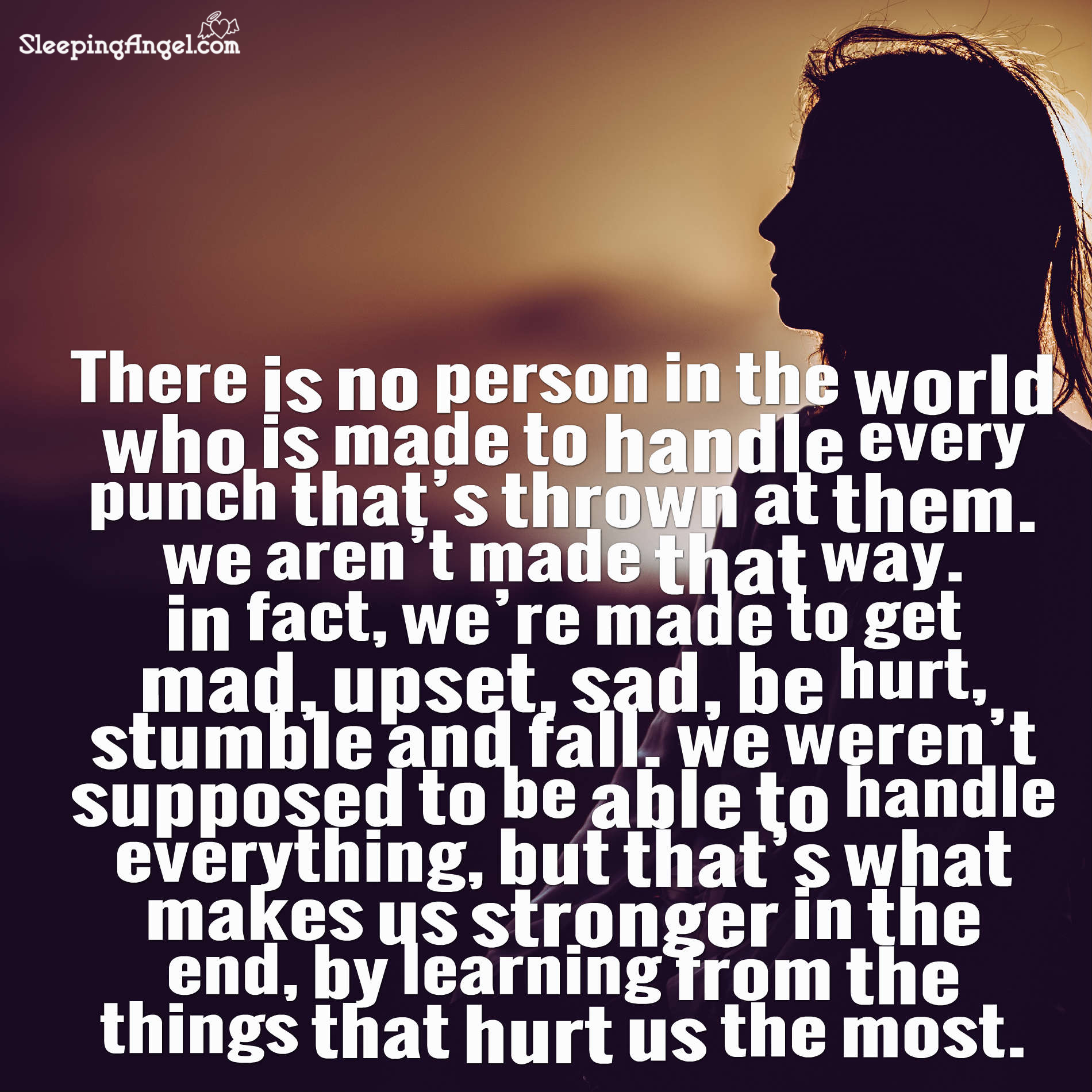 Learning From Things That Hurt Quote