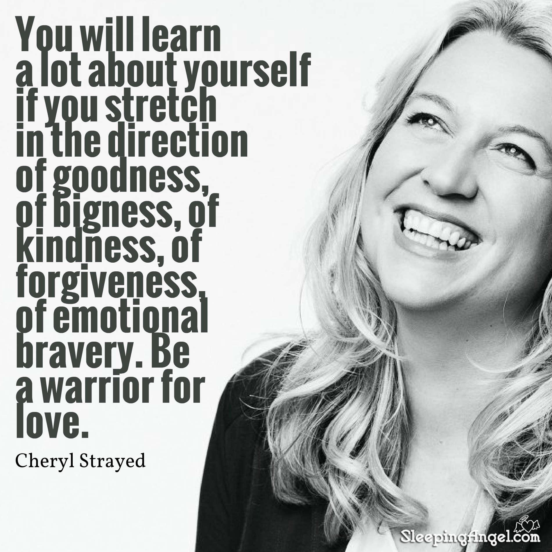 Cheryl Strayed Quote