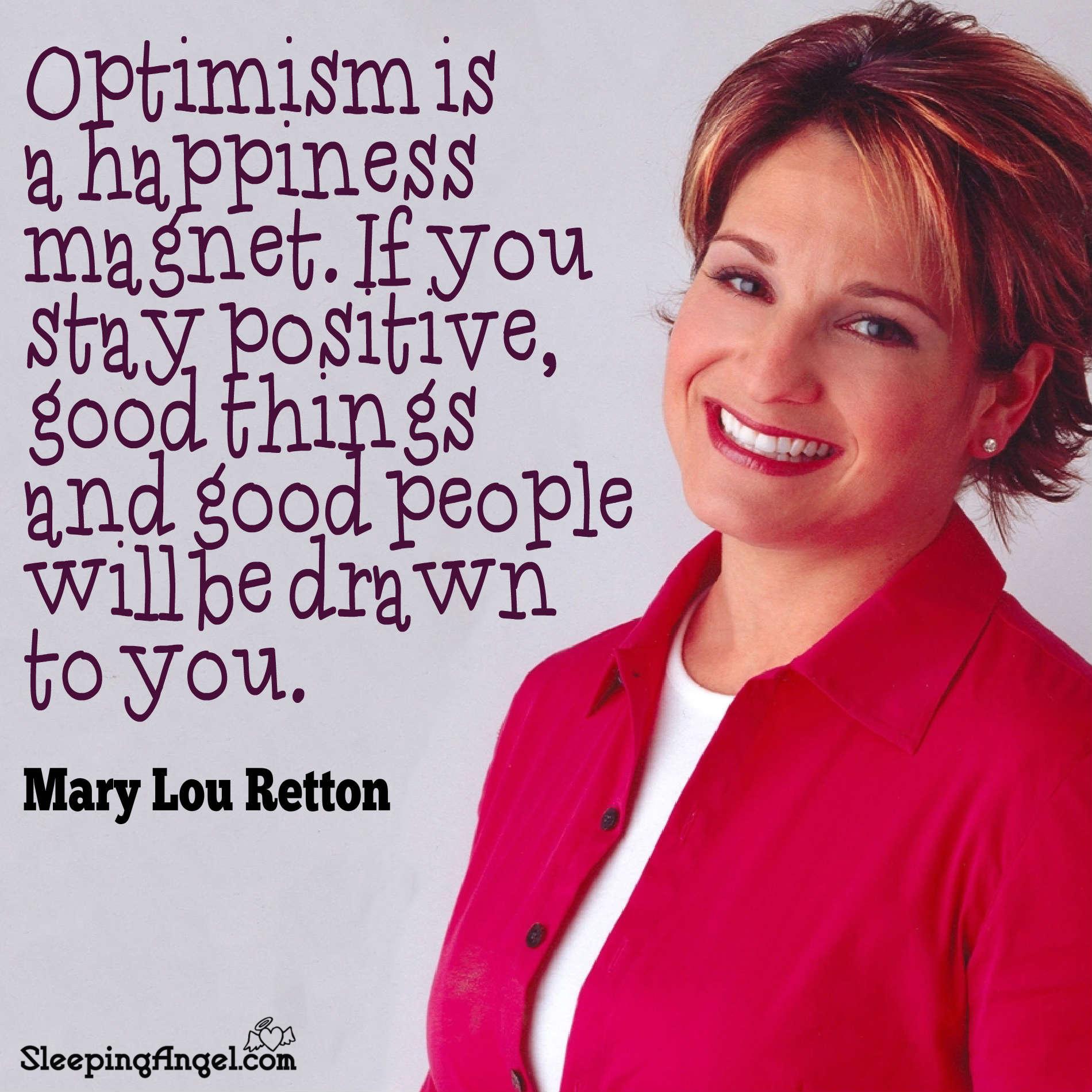 Mary Lou Retton Quote