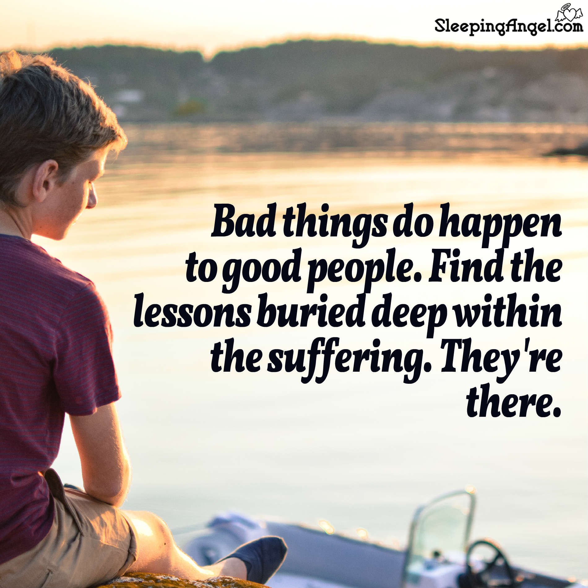 Suffering Lessons Quote