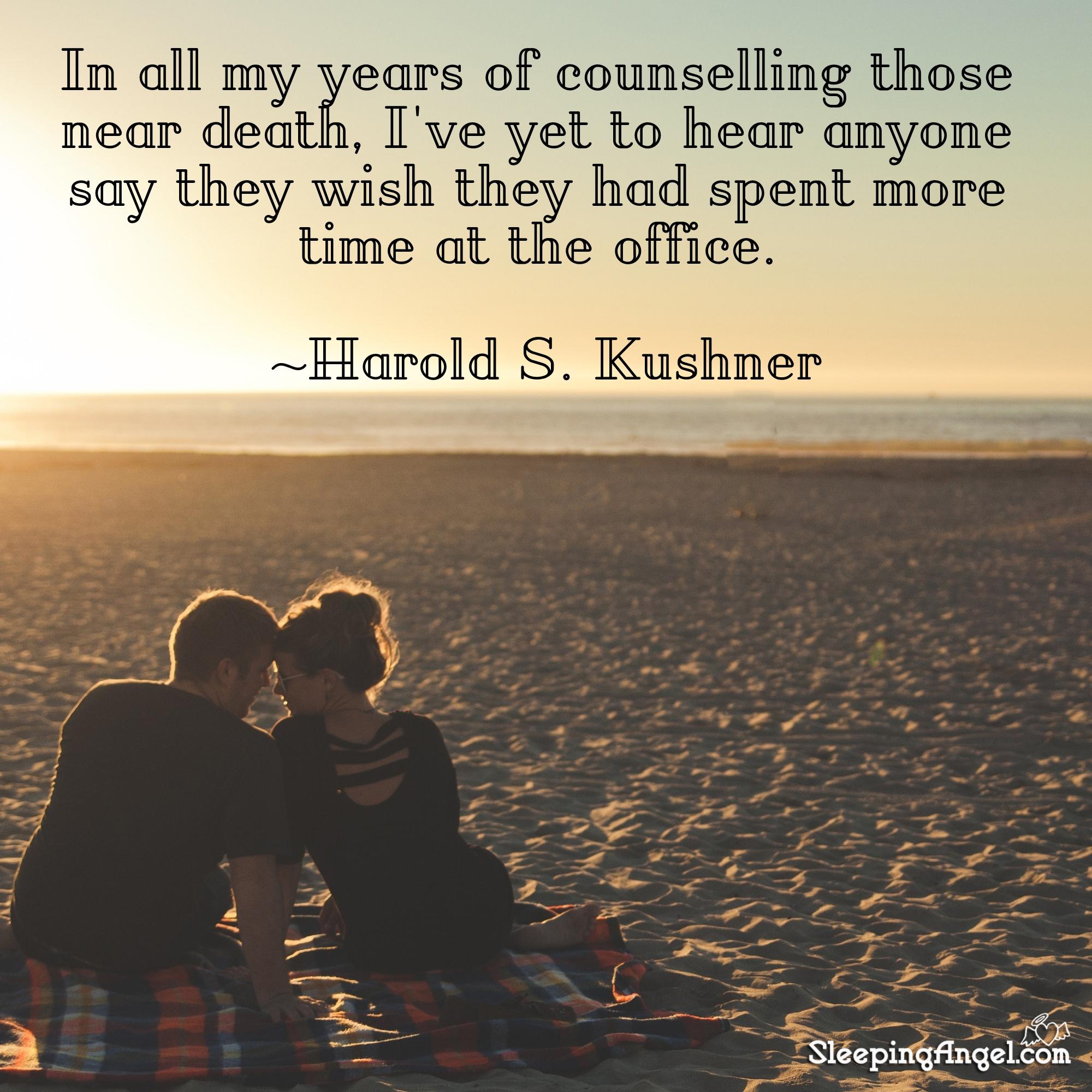 Harold S. Kushner Quote