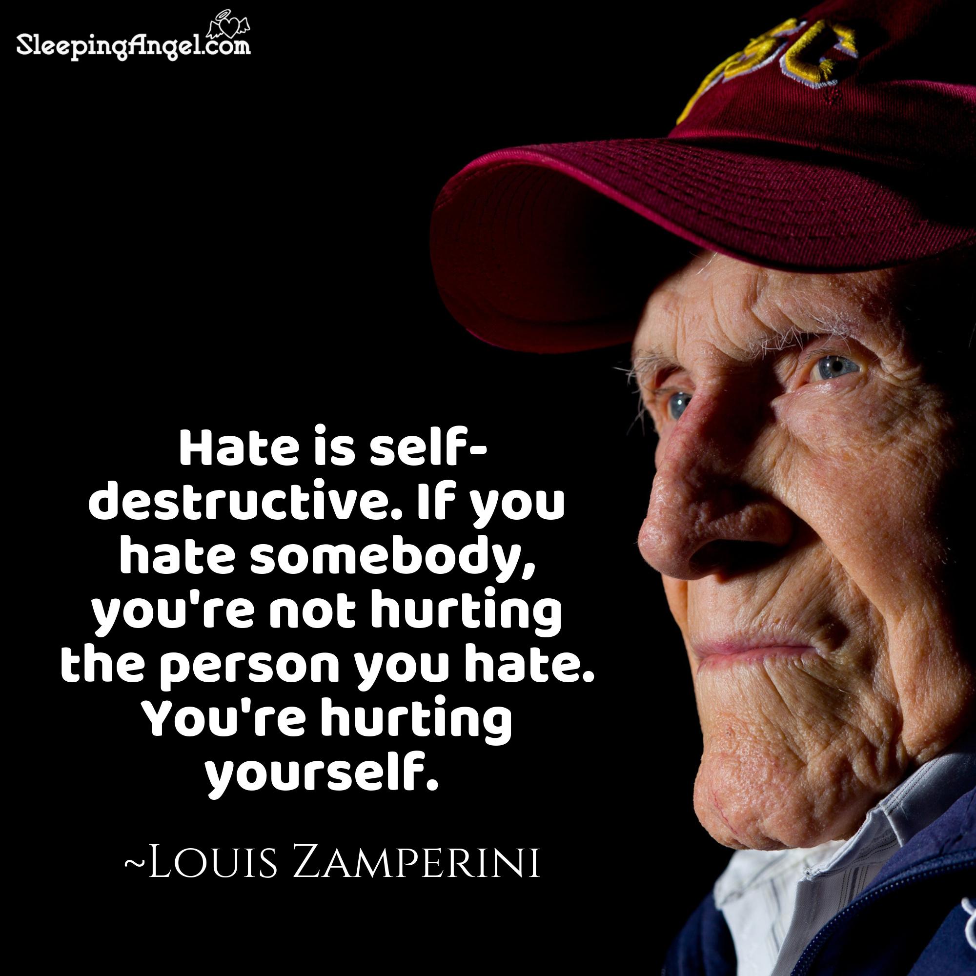 Louis Zamperini Quote