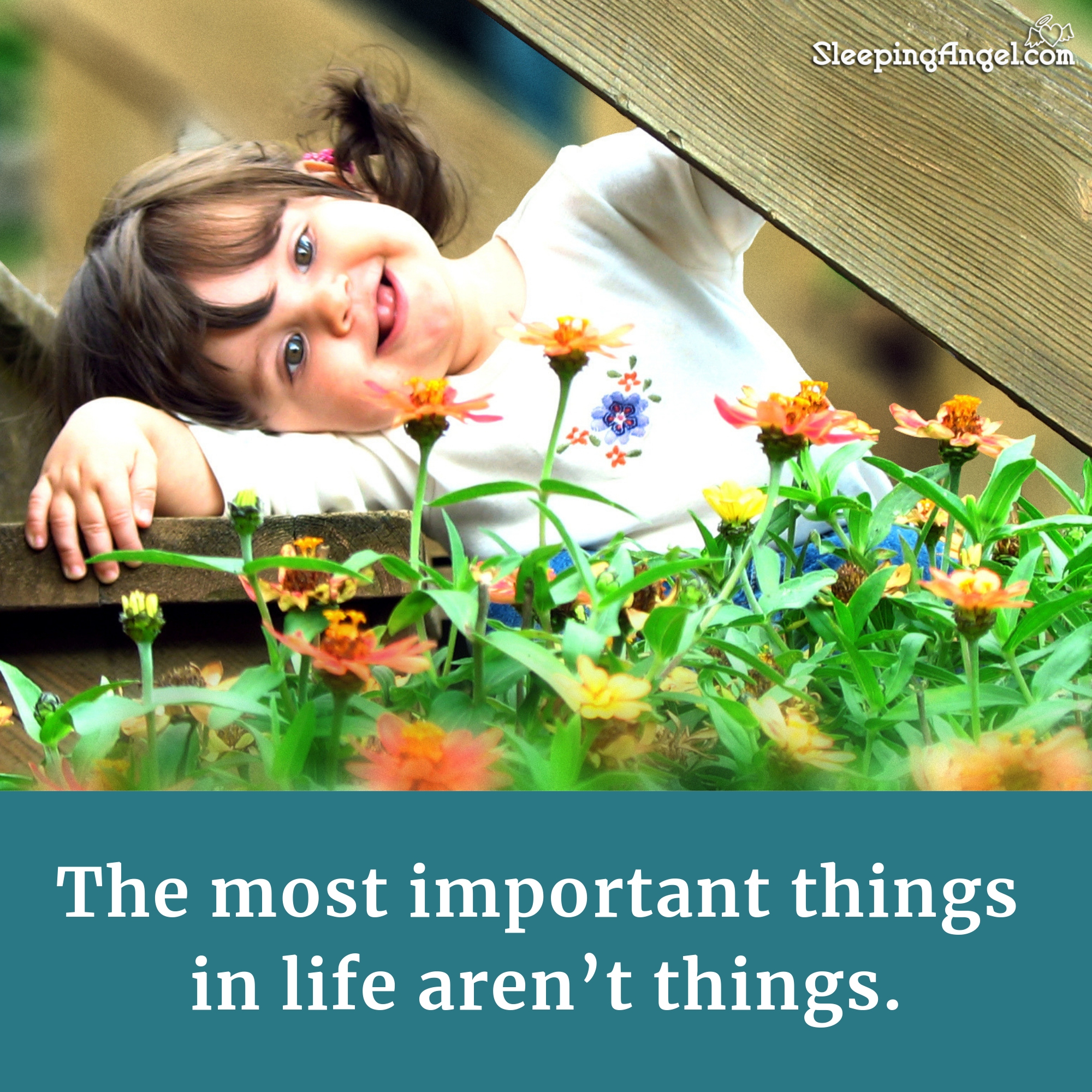 Important Things Quote