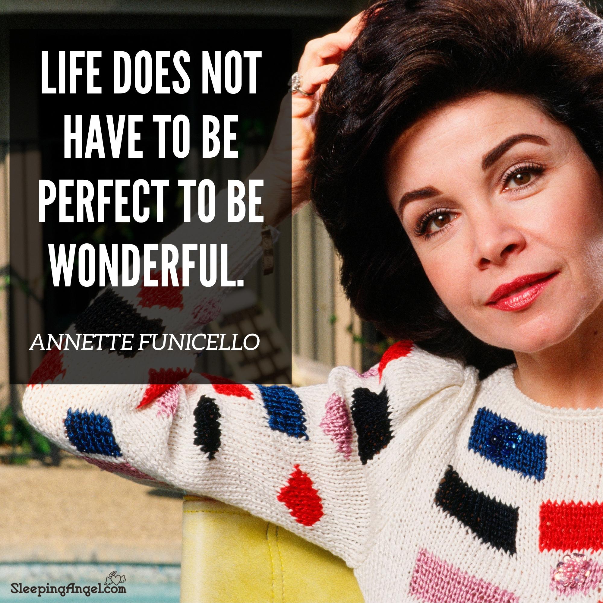Annette Funicello Quote