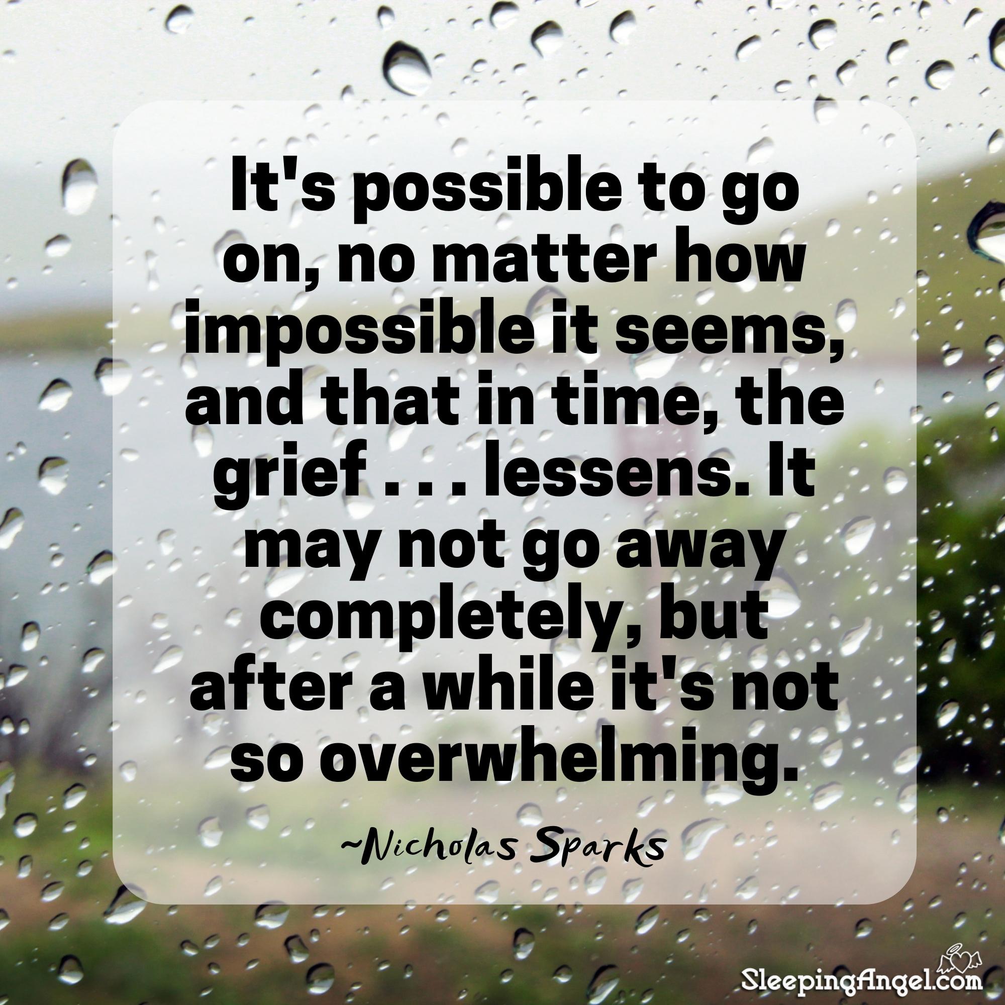 Nicholas Sparks Quote