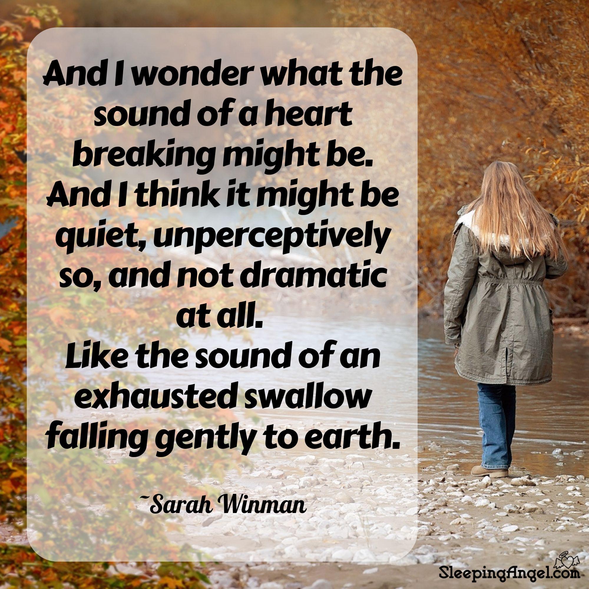 Heart Breaking Quote