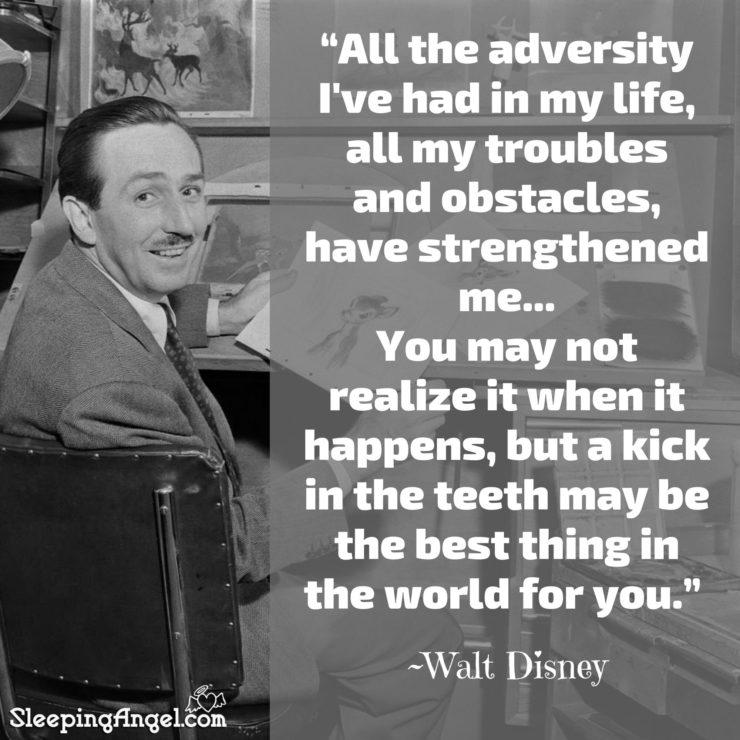 Walt Disney Quote – Sleeping Angel