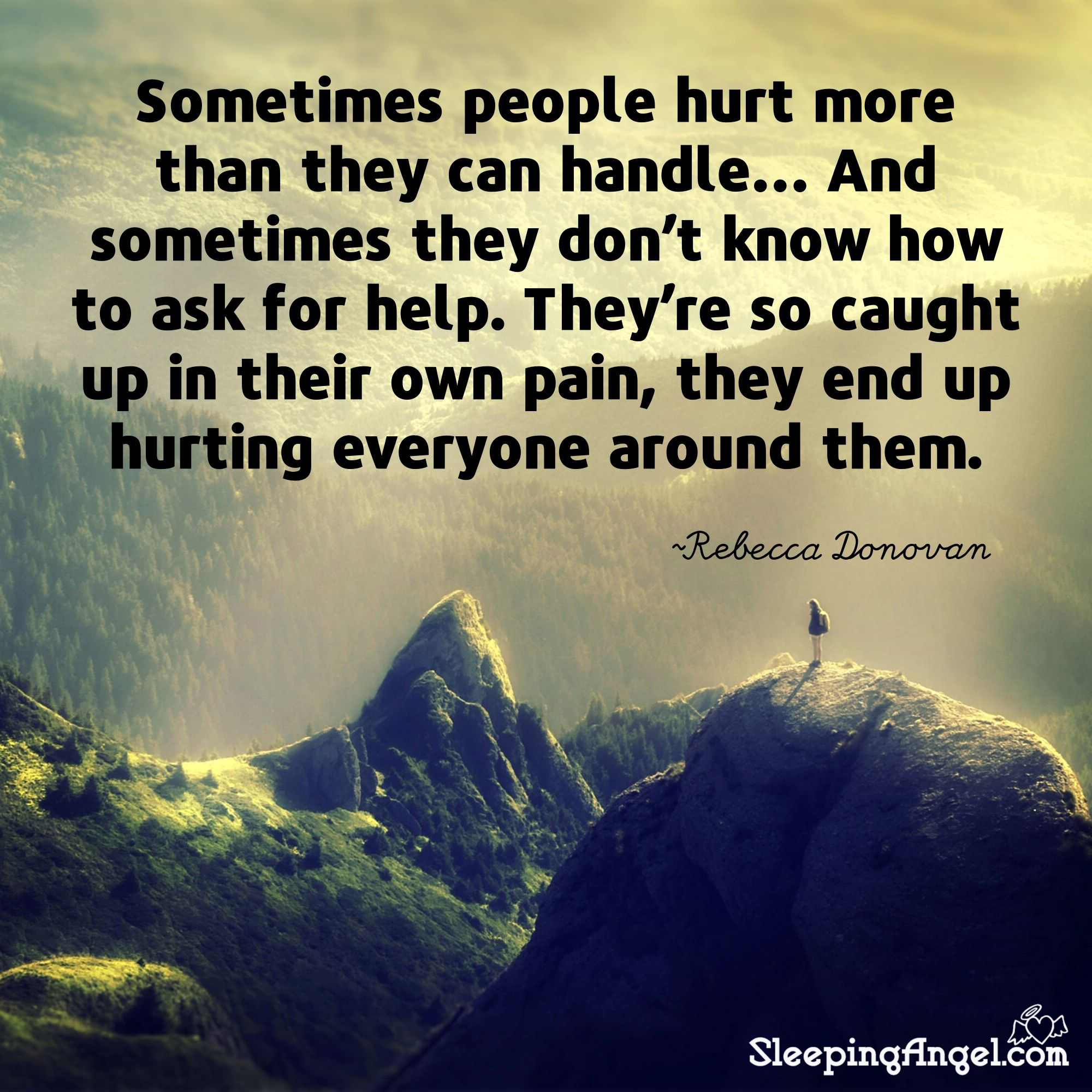 Hurting Quote