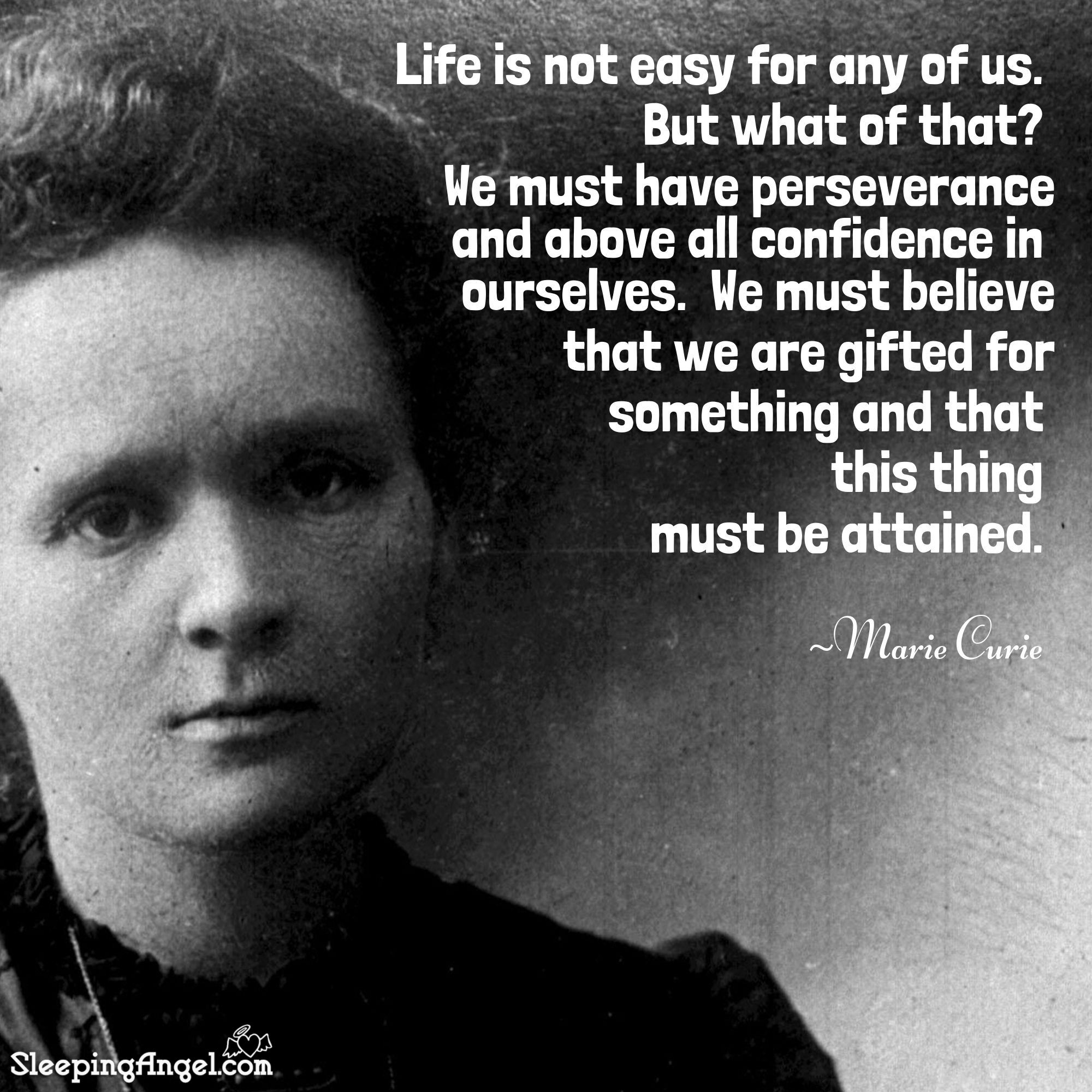 Marie Curie Quote